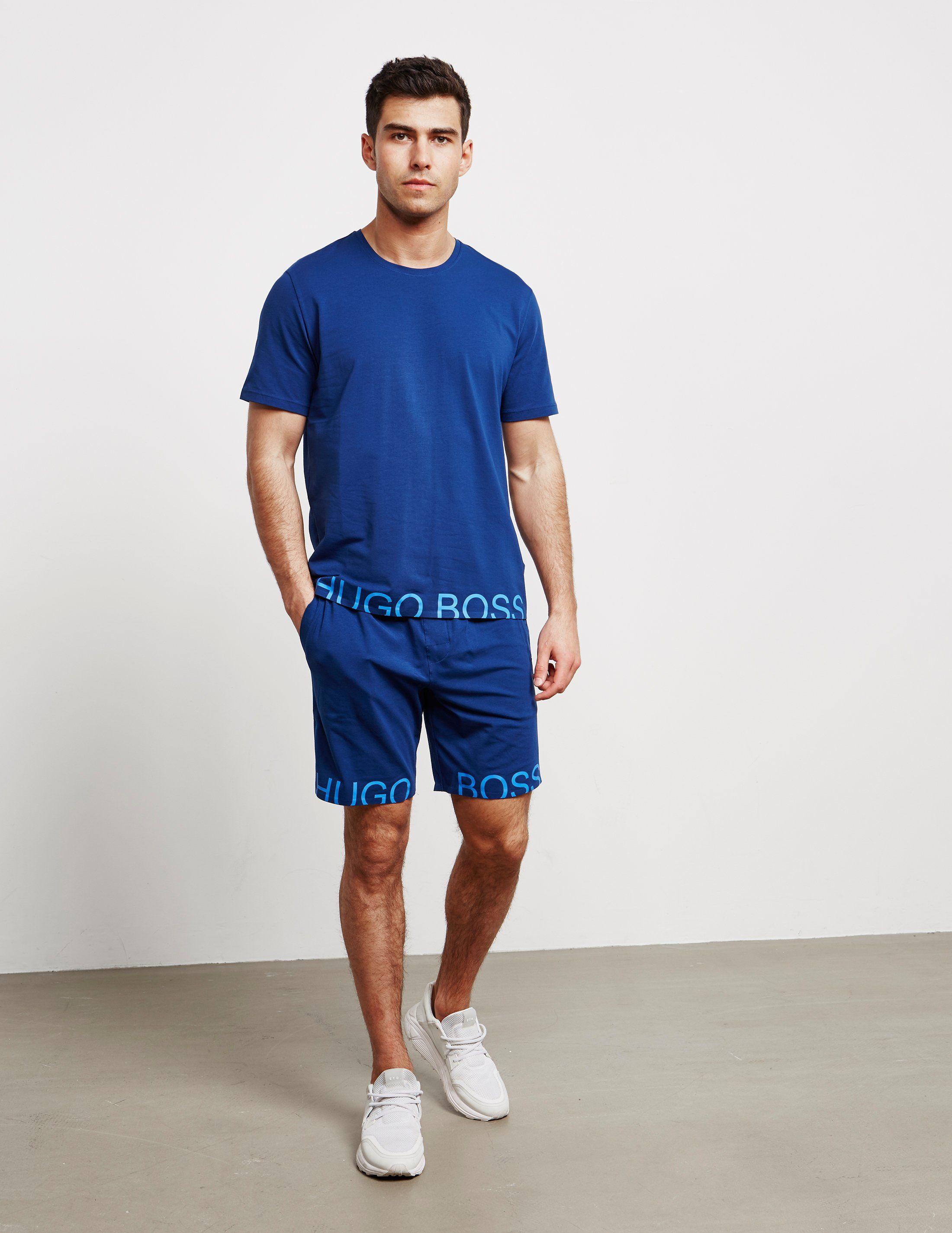 BOSS Hem Brand Shorts - Online Exclusive