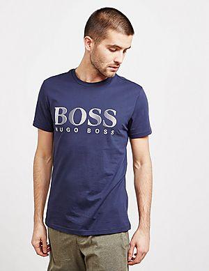 BOSS Swim Logo Short Sleeve T-Shirt ... 40f26f8d07cd