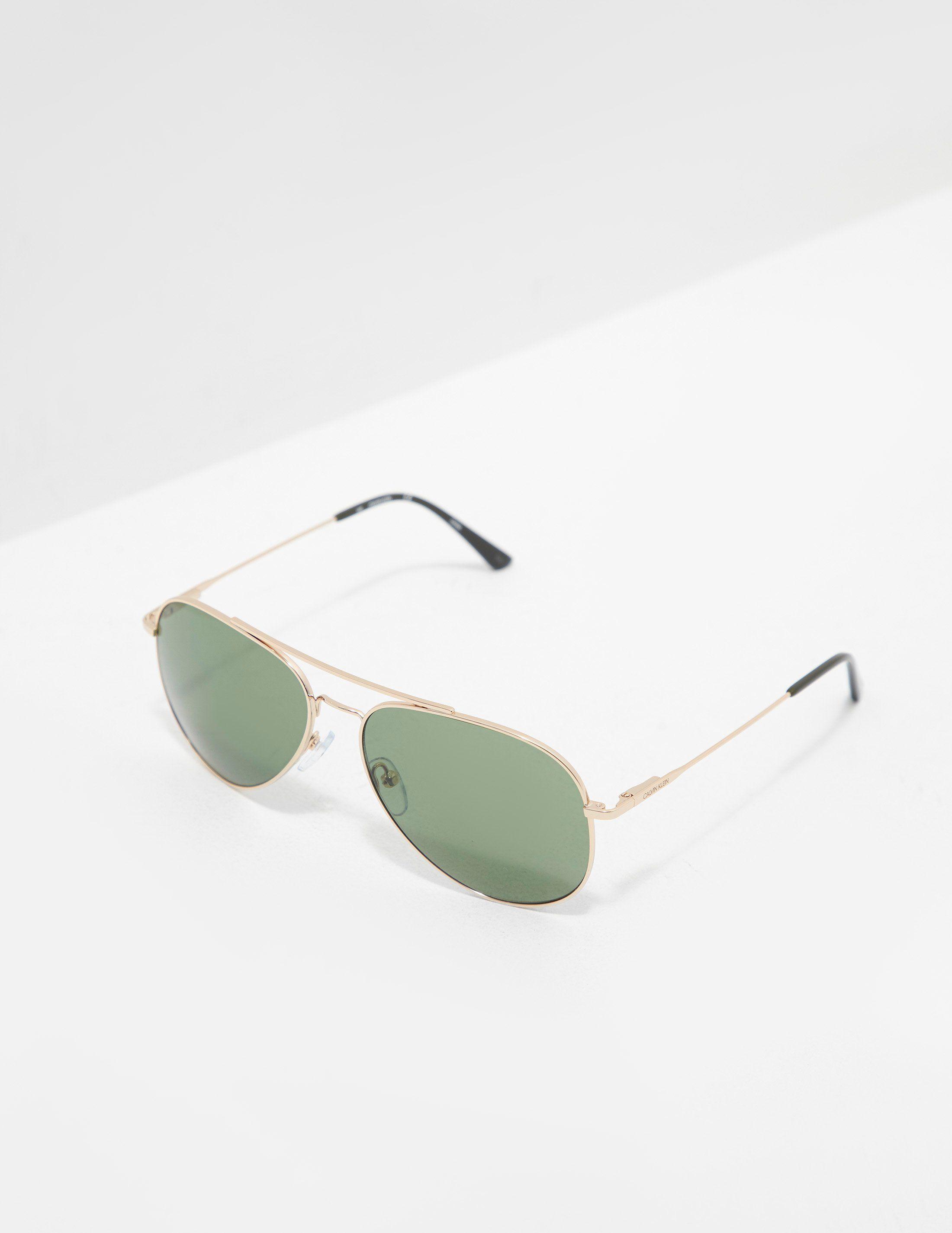 Calvin Klein Aviator Sunglasses