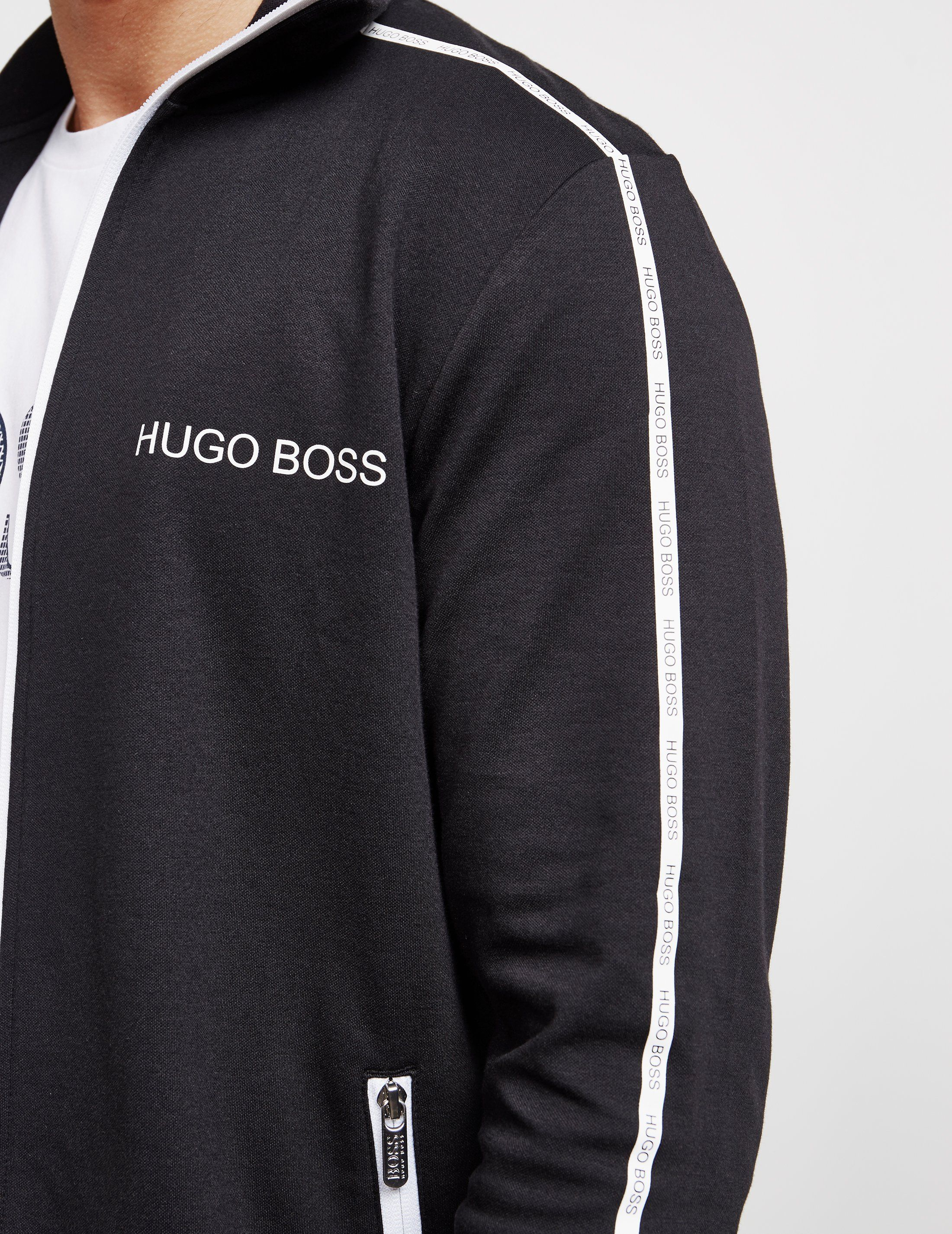 BOSS Pique Tape Track Top