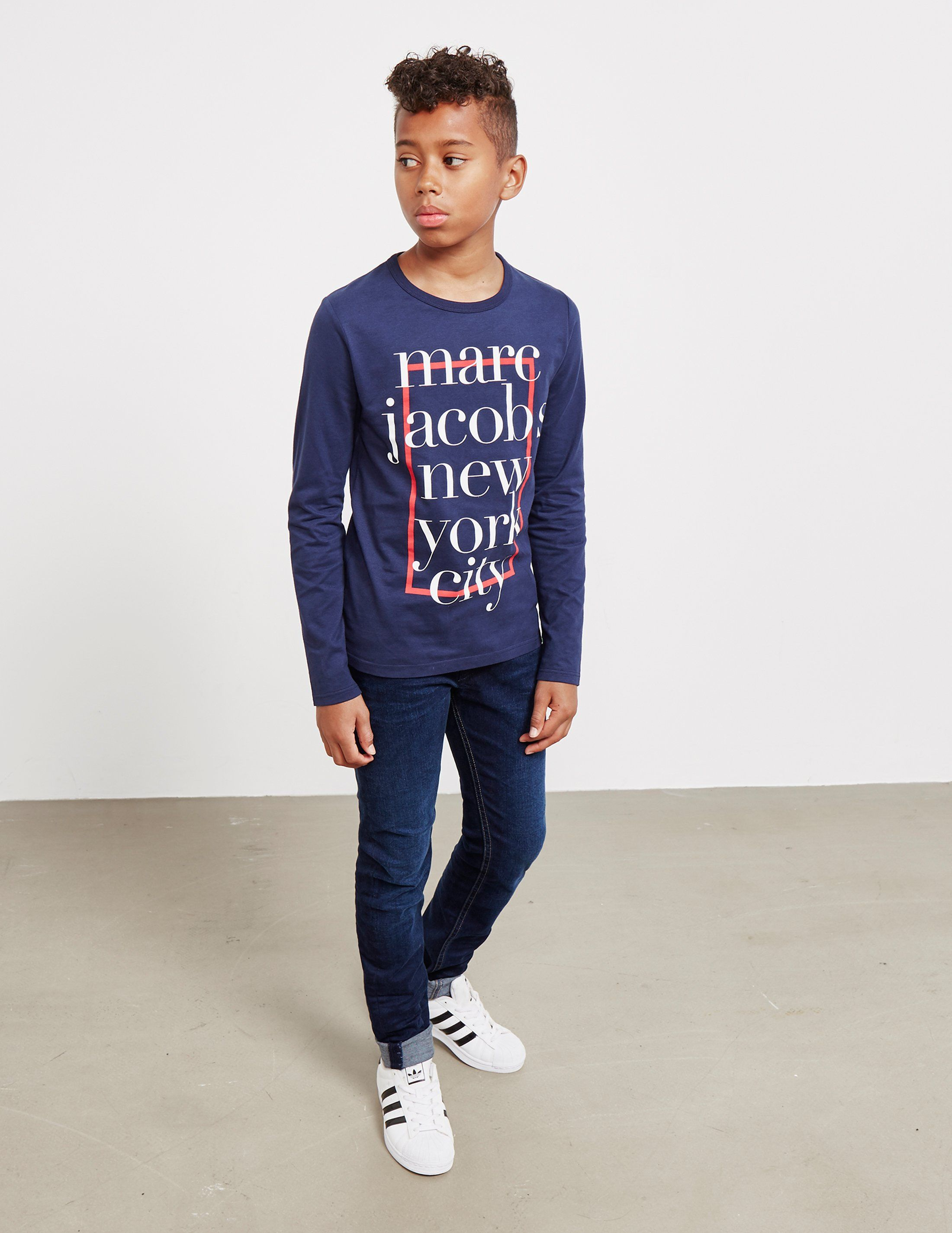 Little Marc Jacobs NYC Long Sleeve T-Shirt - Online Exclusive