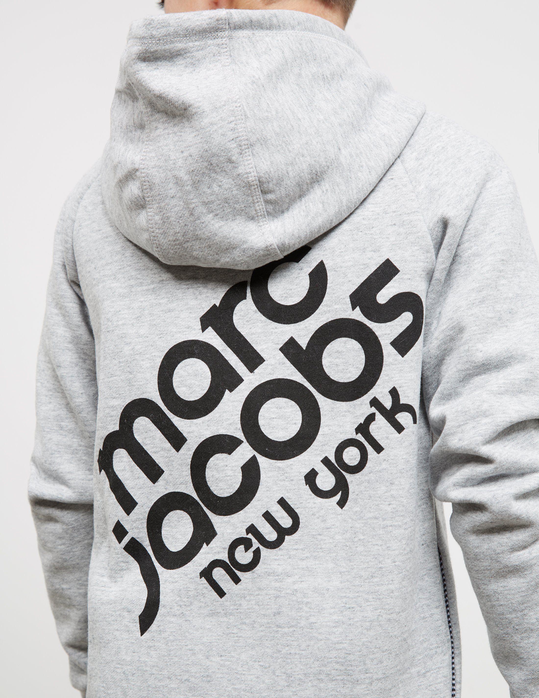 Little Marc Jacobs Logo Full Zip Hoodie - Online Exclusive