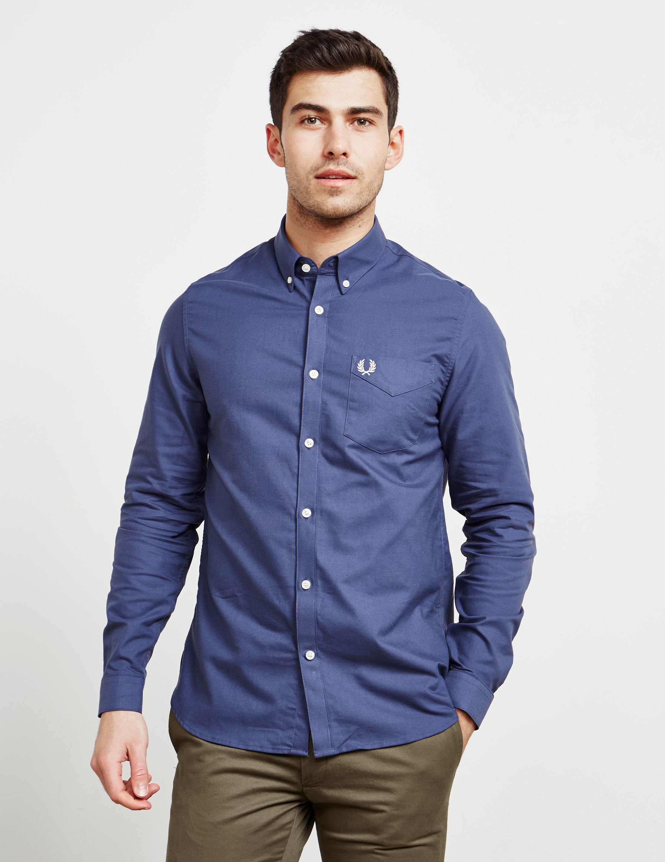 Fred Perry Classic Long Sleeve Shirt - Online Exclusive