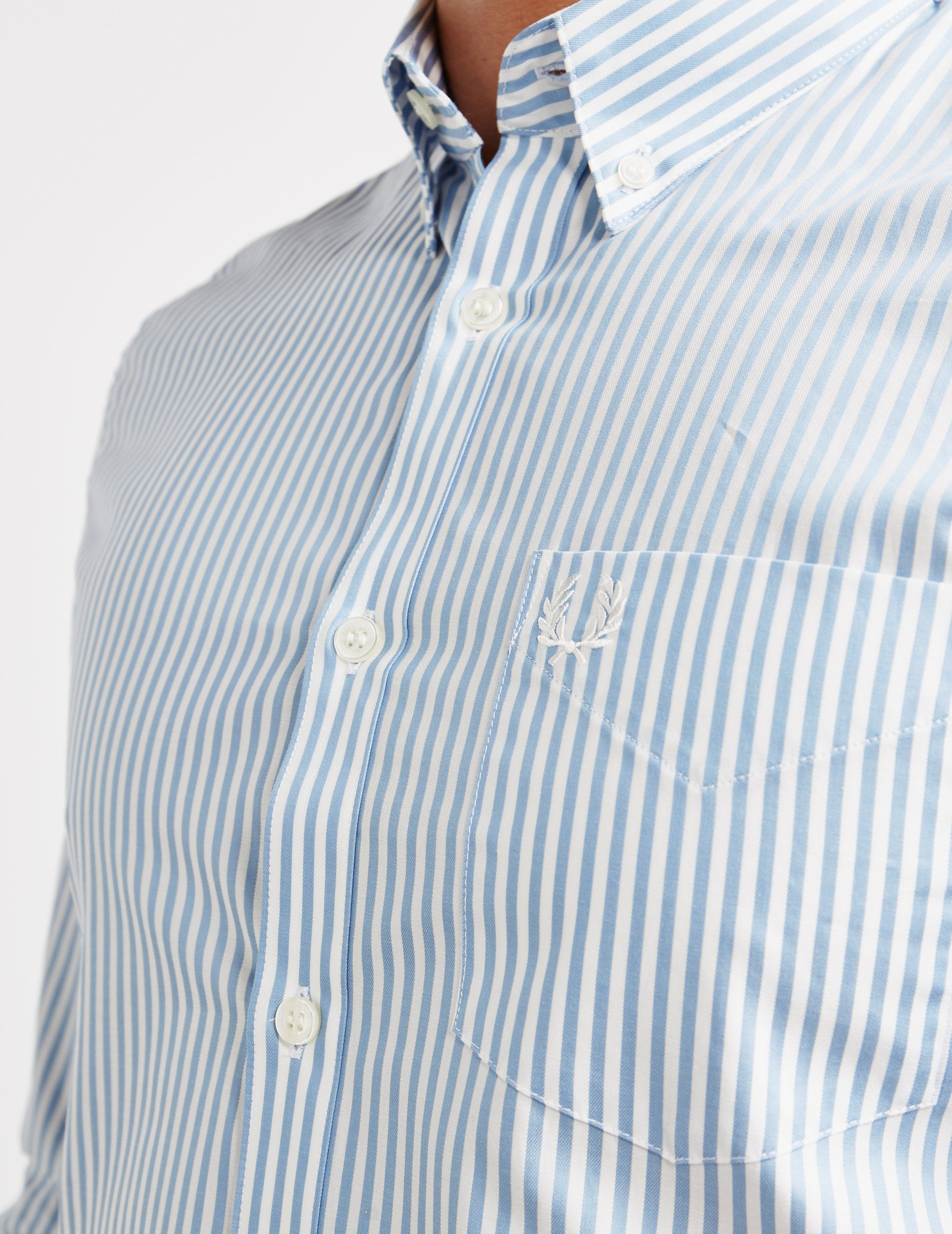 Fred Perry Stripe Long Sleeve Shirt