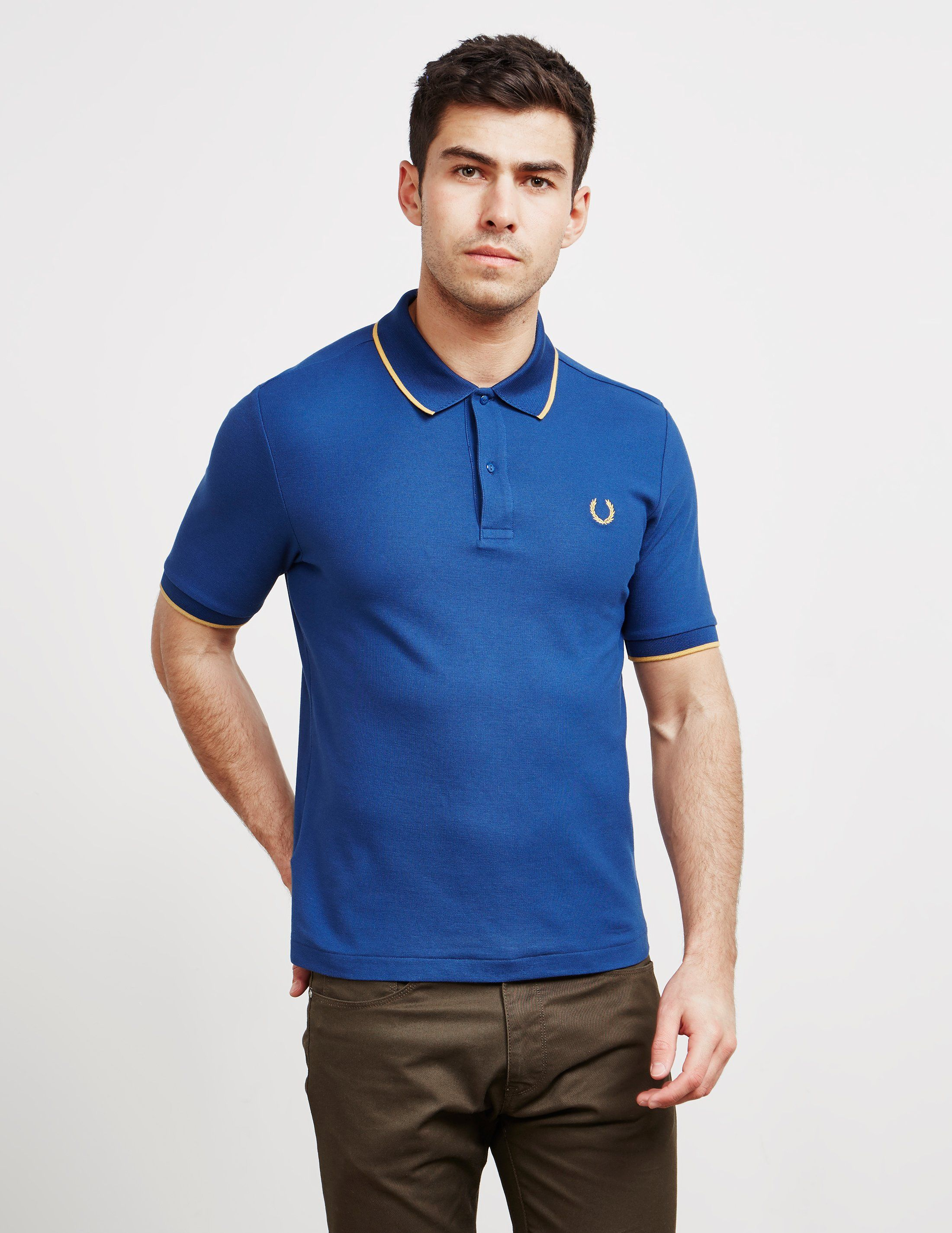 Fred Perry x Miles Kane Short Sleeve Pique Polo Shirt