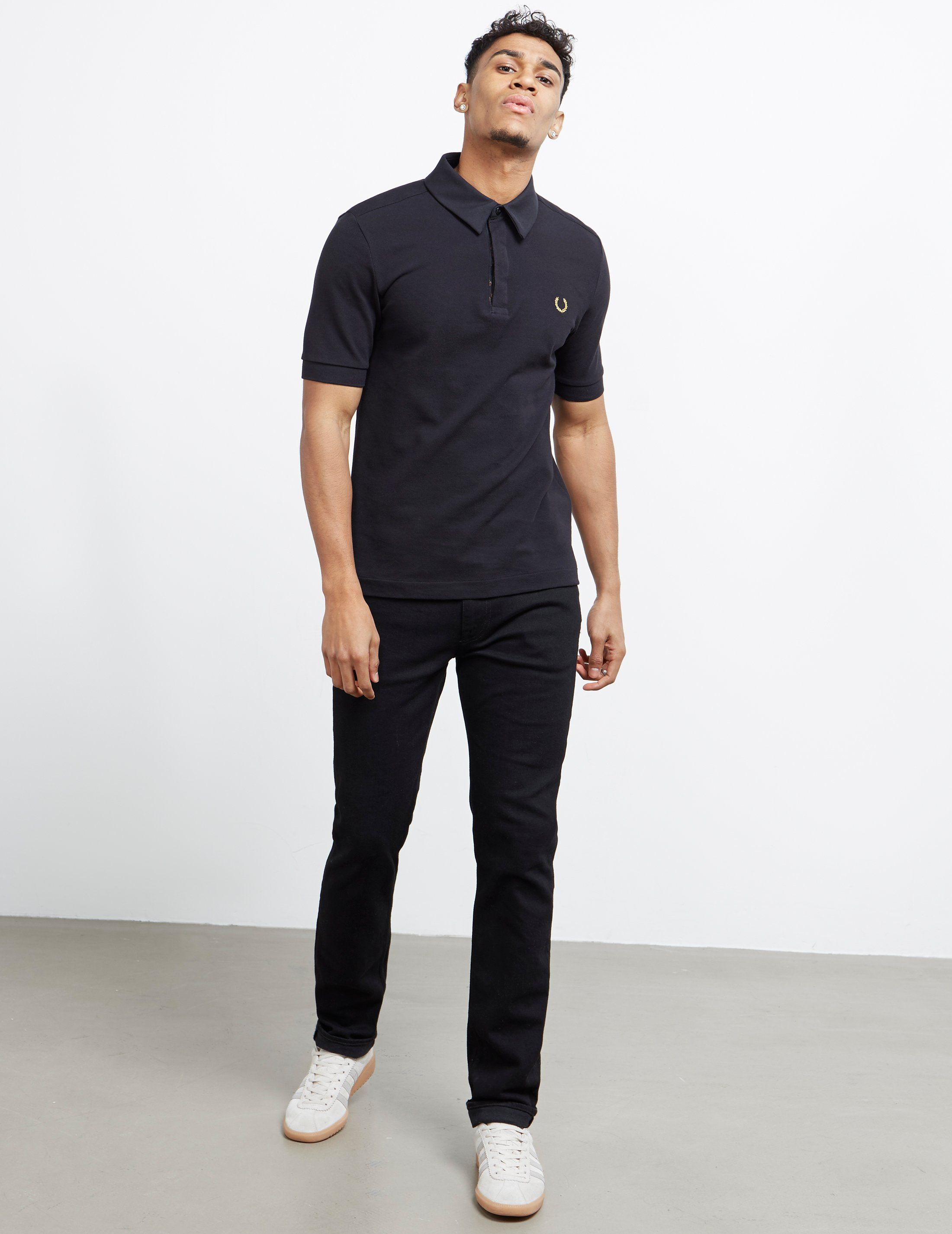 Fred Perry x Miles Kane Liberty Short Sleeve Polo Shirt