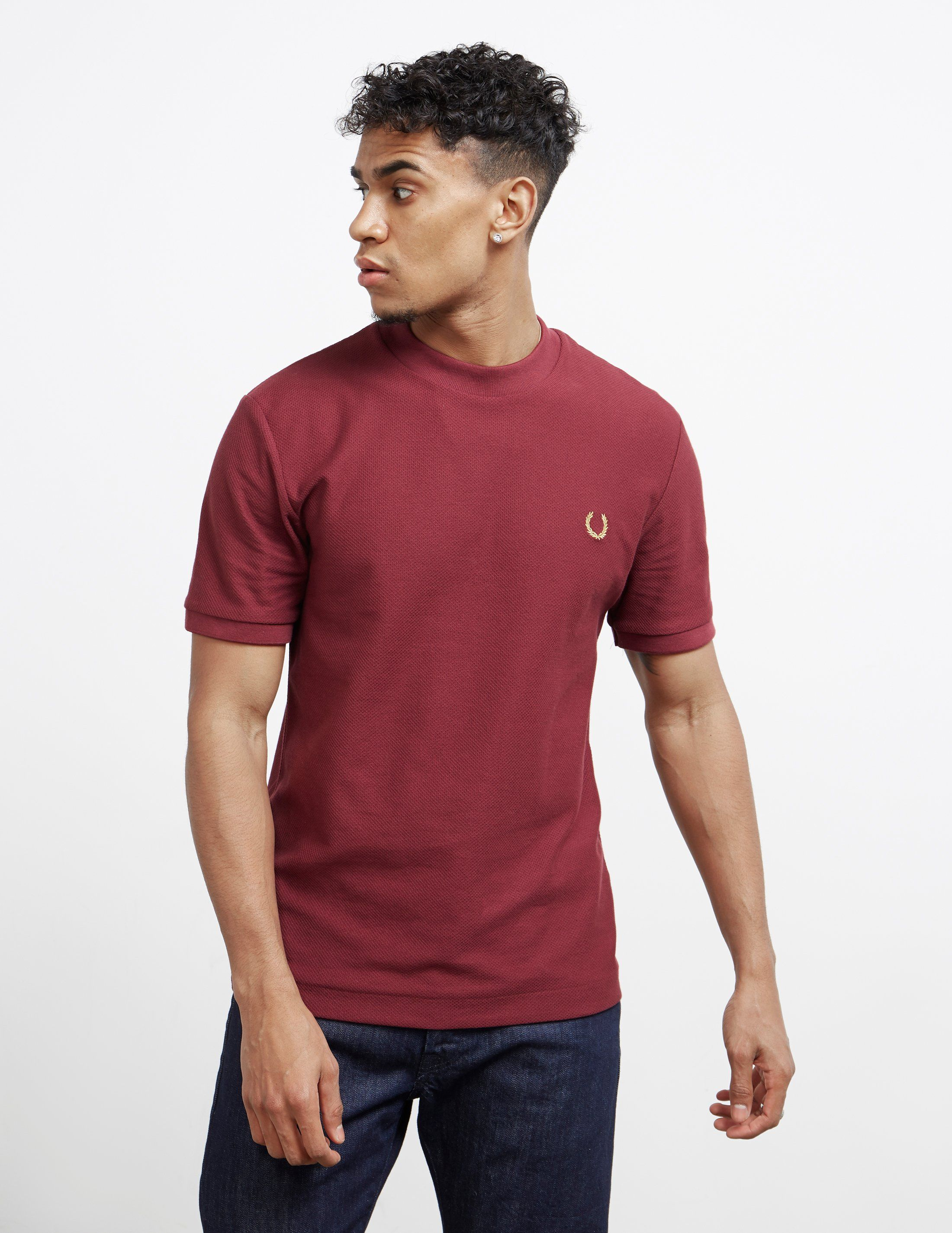 Fred Perry x Miles Kane Short Sleeve Pique T-Shirt