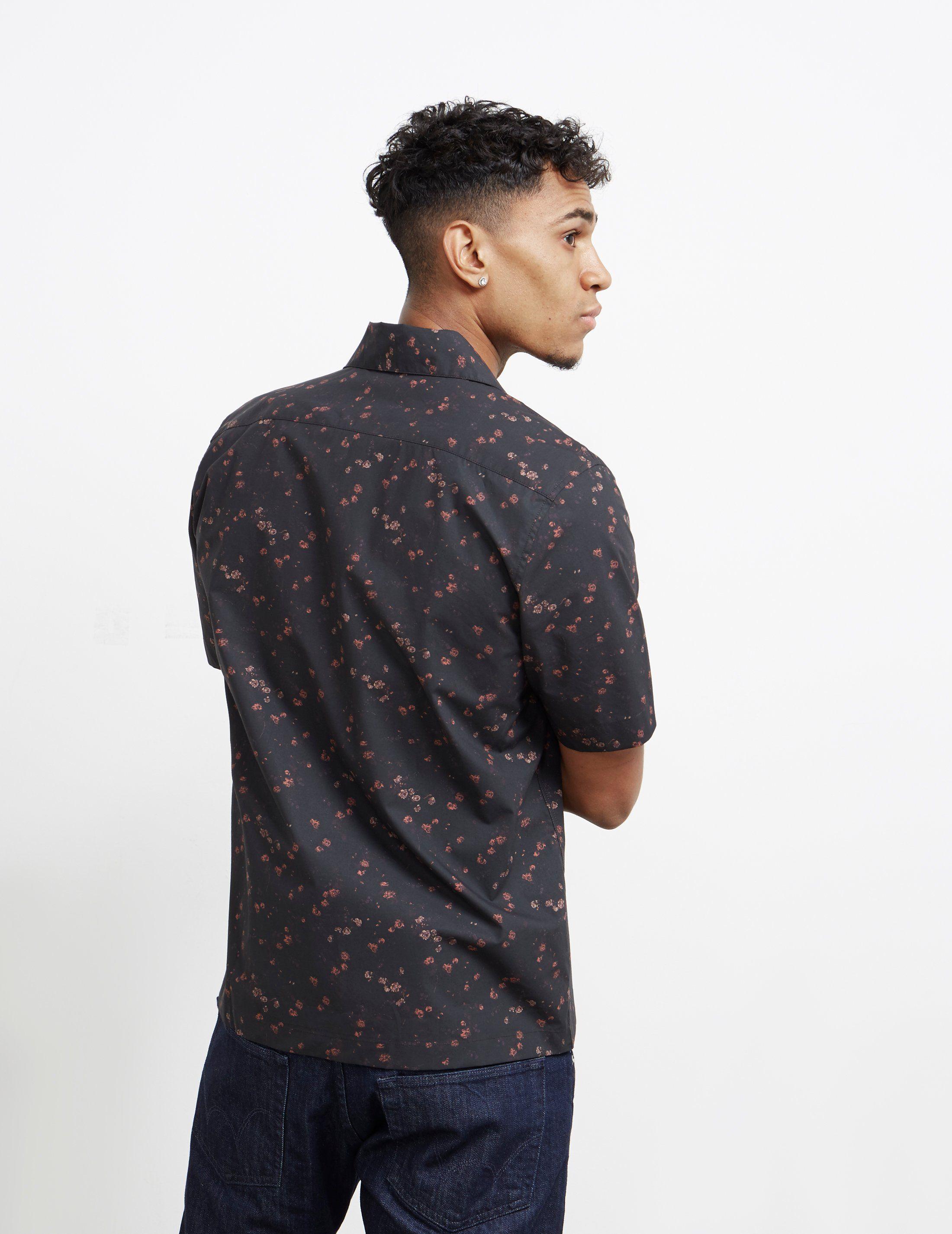 Fred Perry x Miles Kane Short Sleeve Liberty Print Shirt