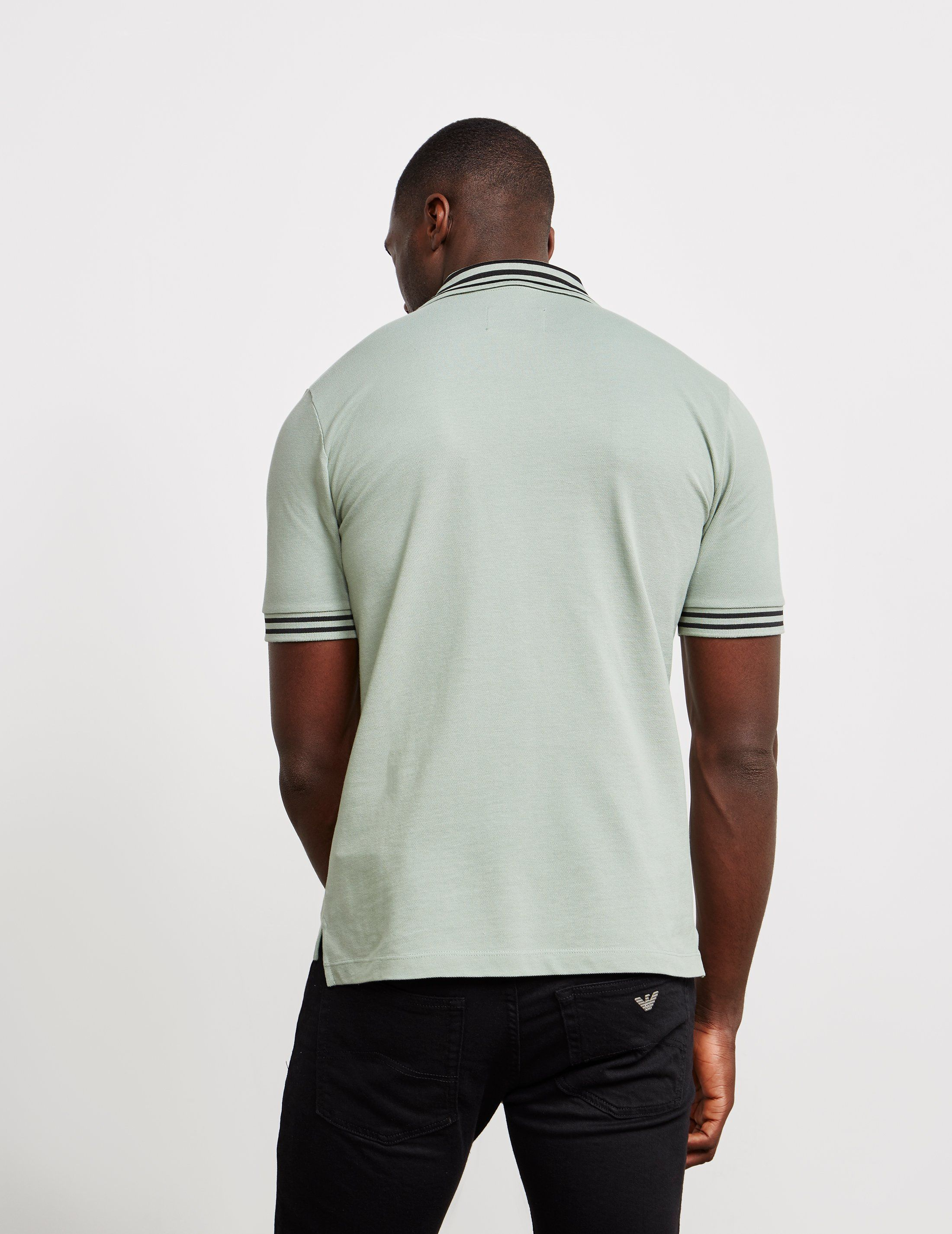 Vivienne Westwood Tipped Orb Short Sleeve Polo Shirt