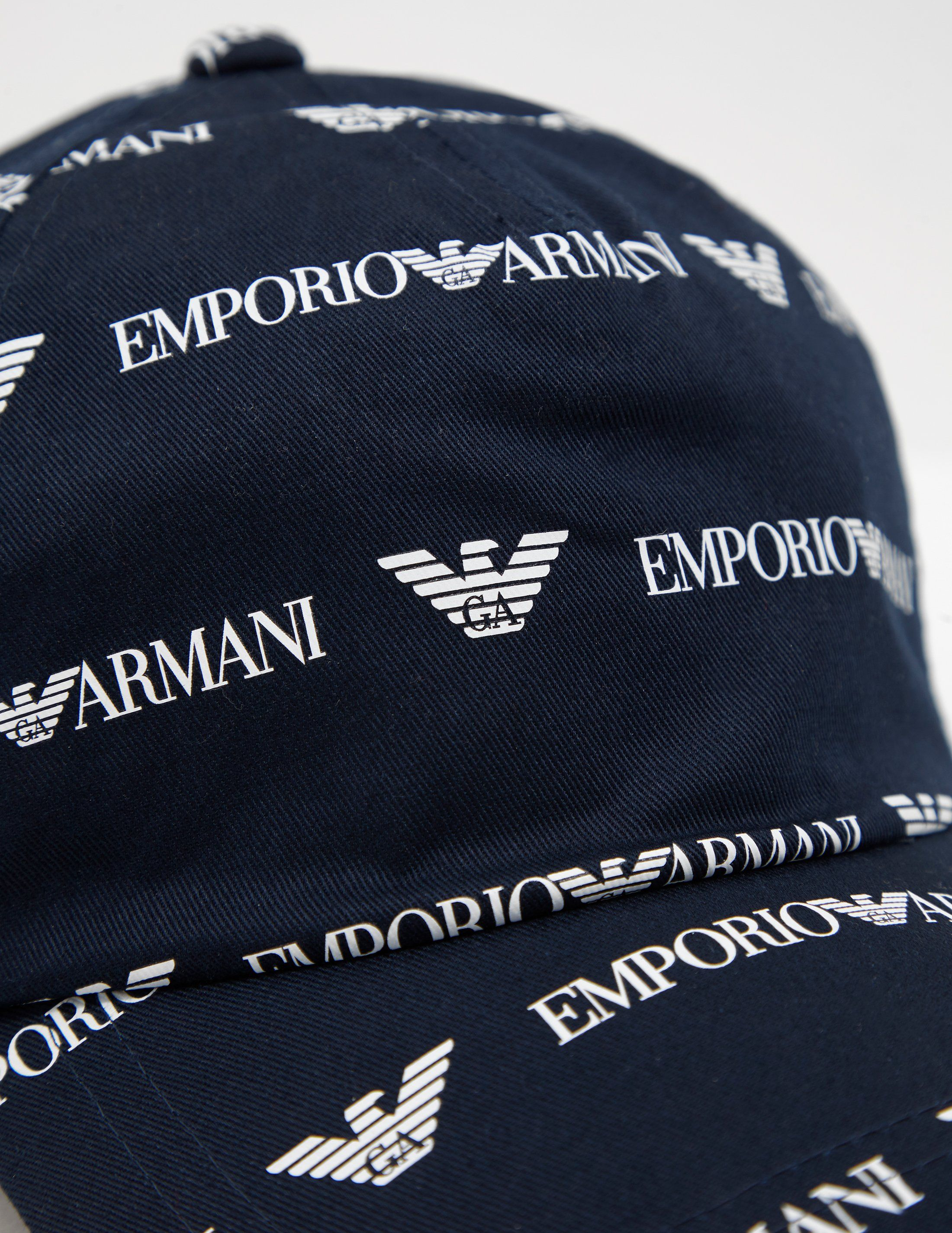 Emporio Armani All Over Logo Cap
