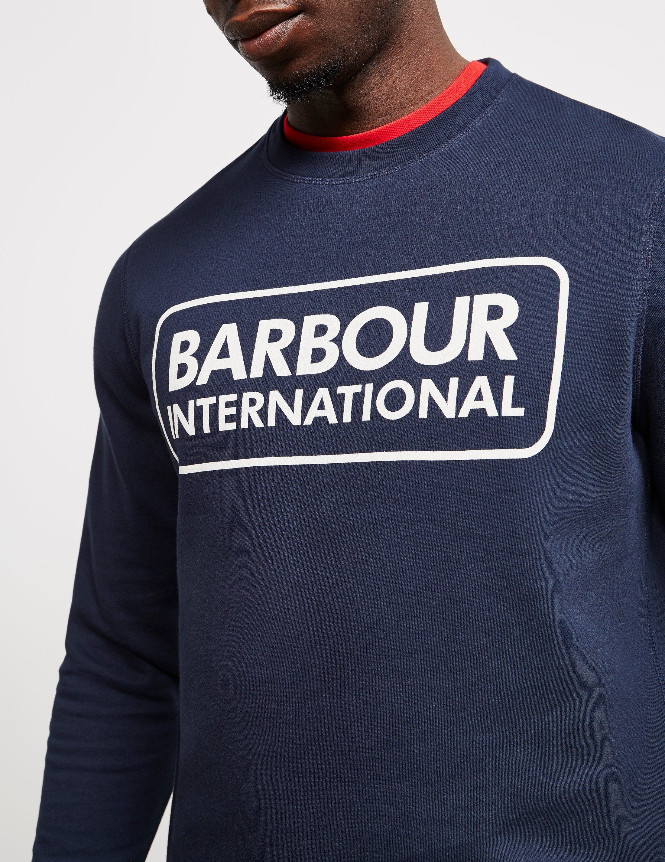 Barbour International Large Logo Sweatshirt