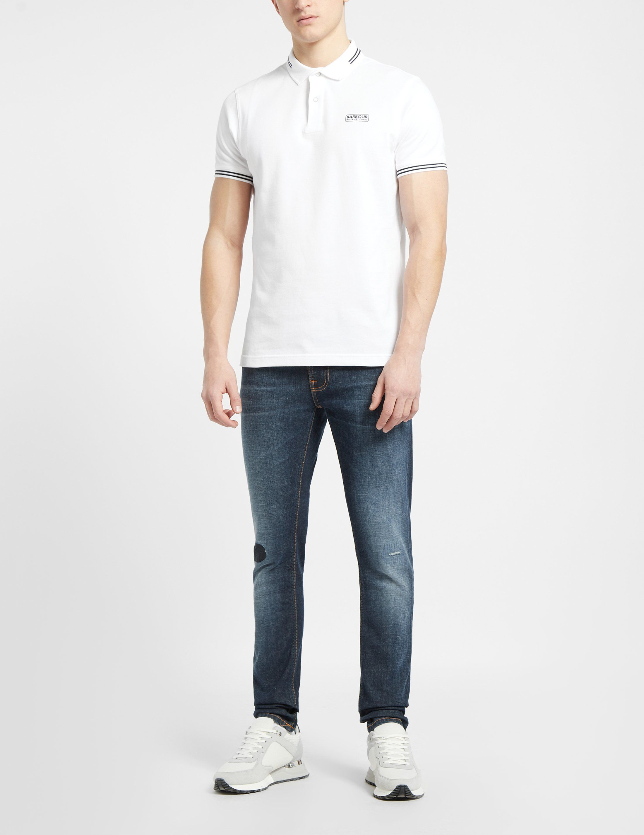Barbour International Tipped Polo Shirt