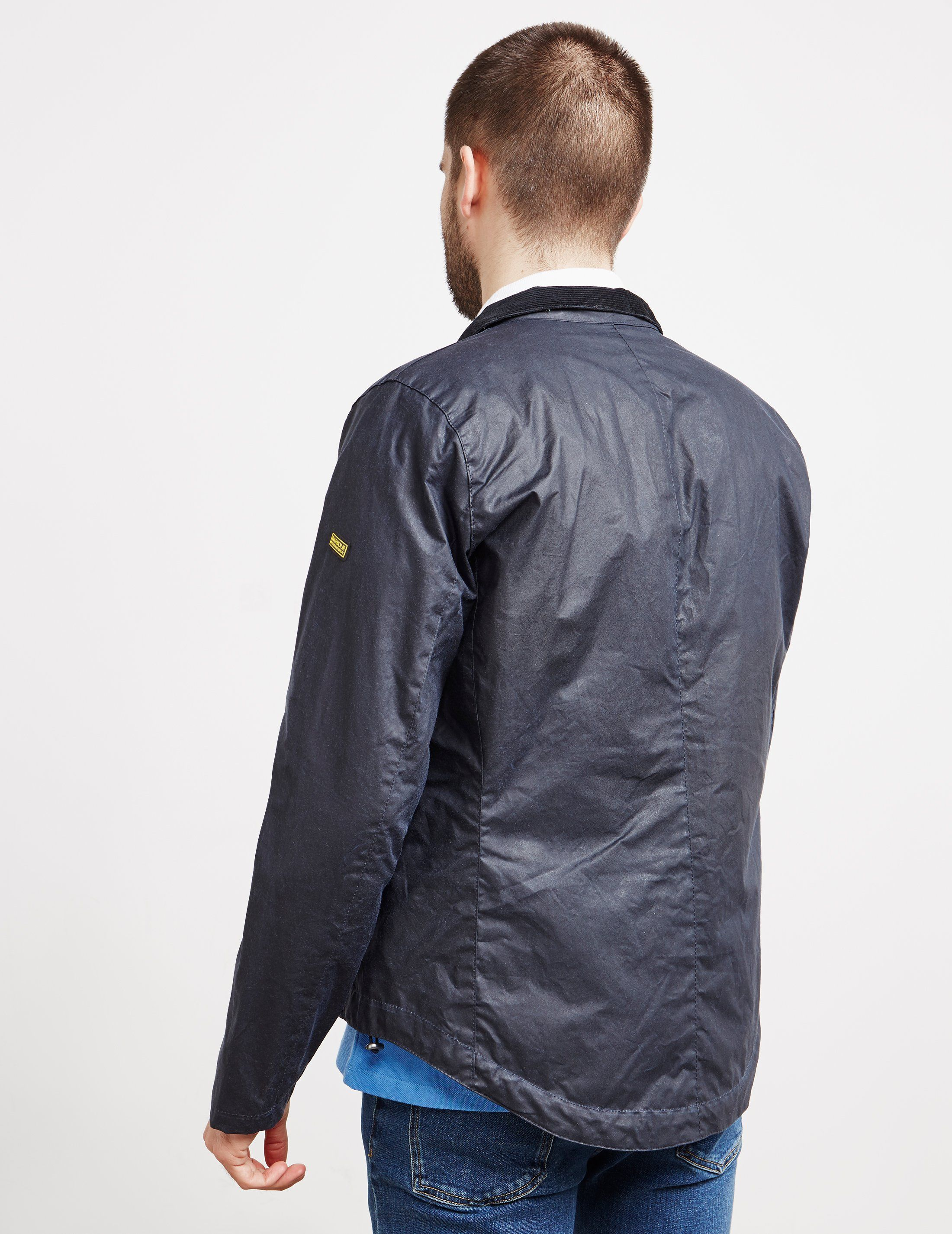 Barbour International Bower Waxed Jacket