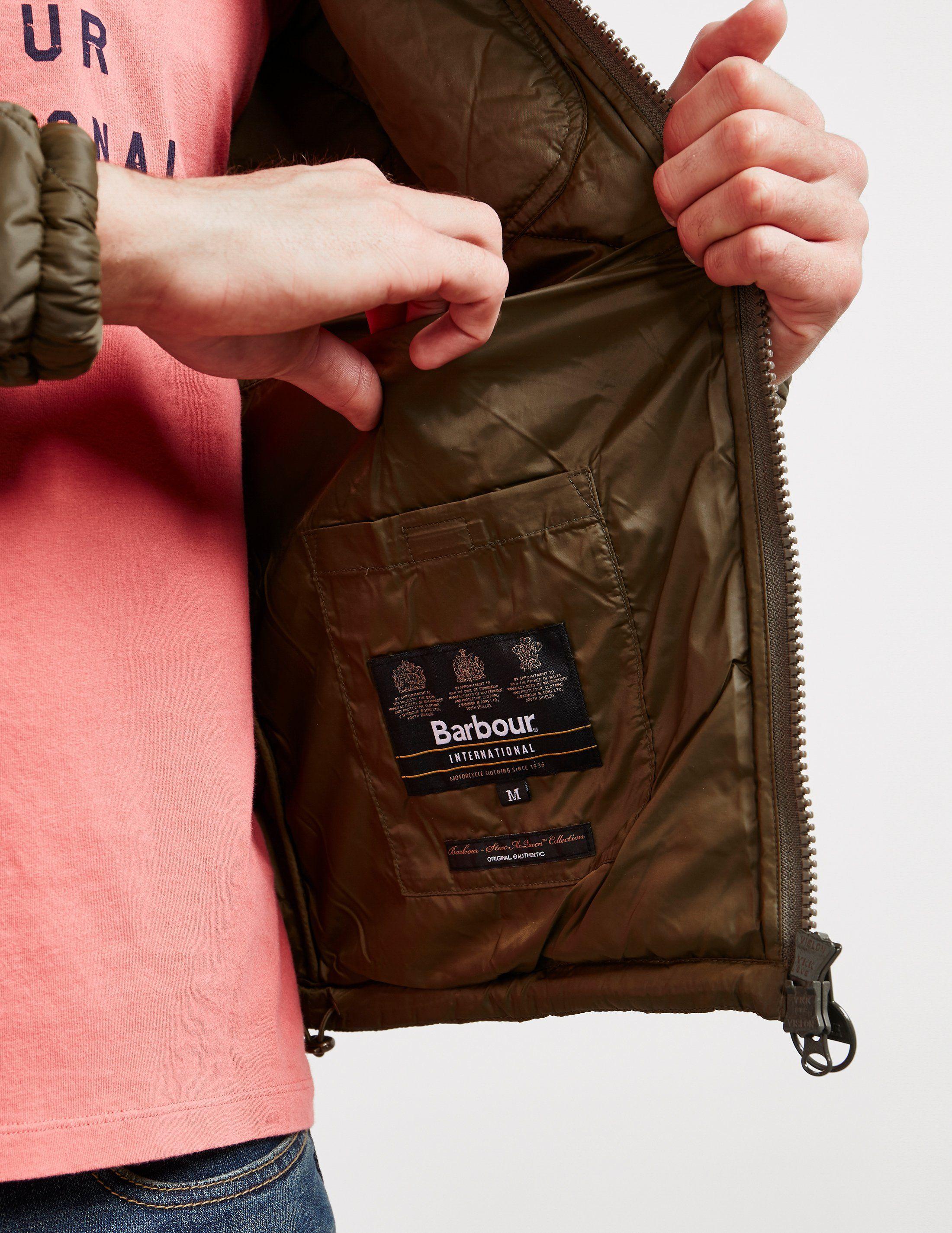 Barbour International Steve McQueen Acadia Padded Jacket