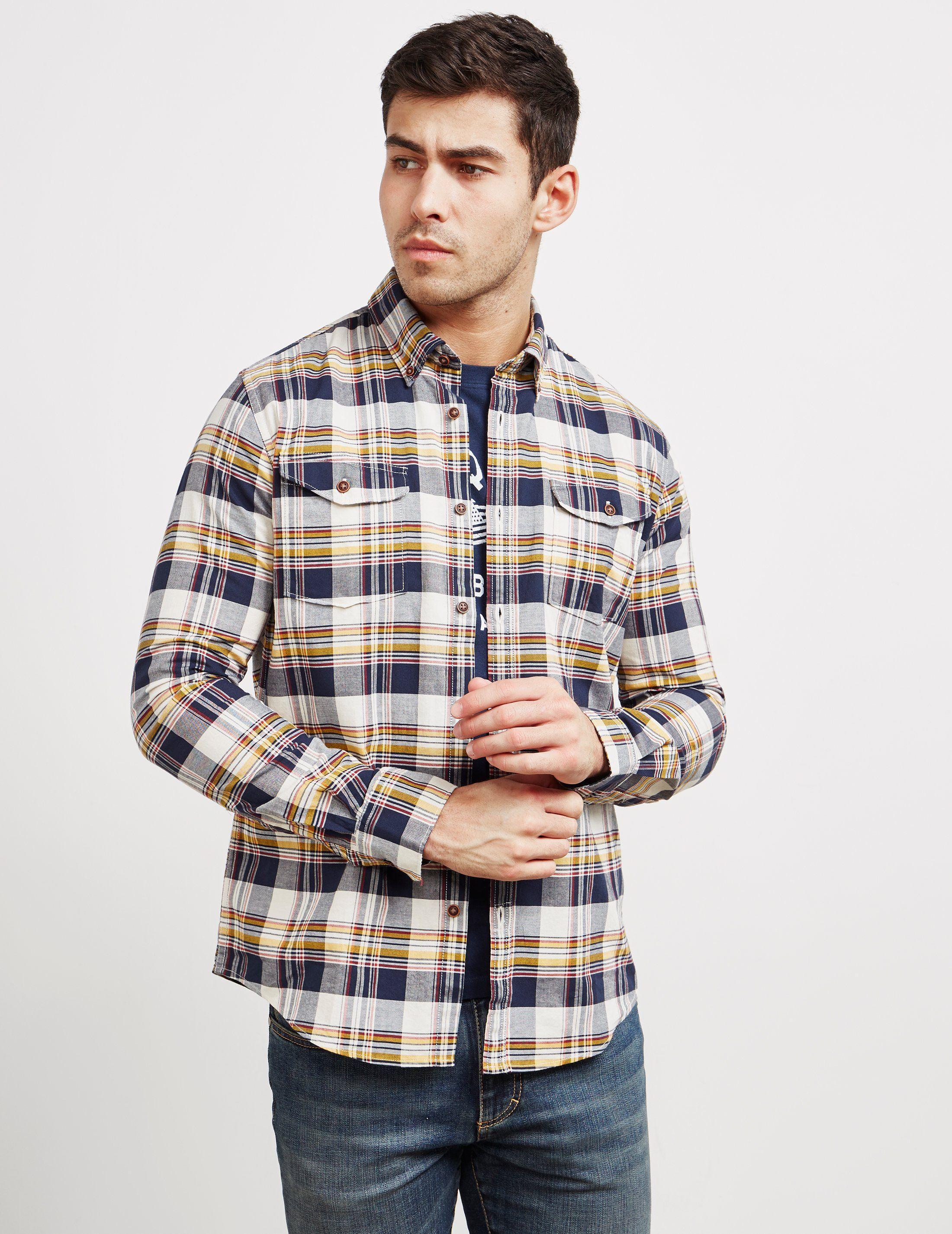 Barbour International Steve McQueen Long Sleeve King Shirt