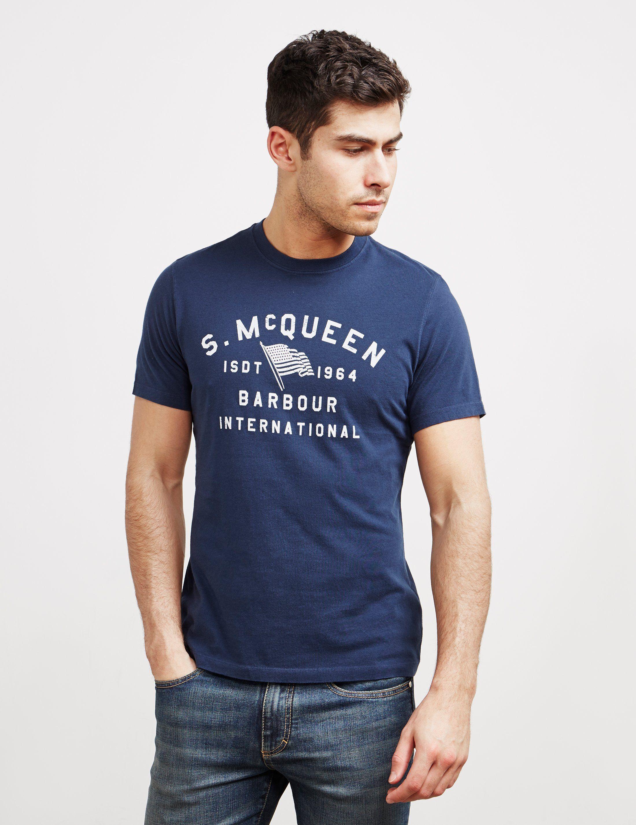 Barbour International Steve McQueen Short Sleeve T-Shirt