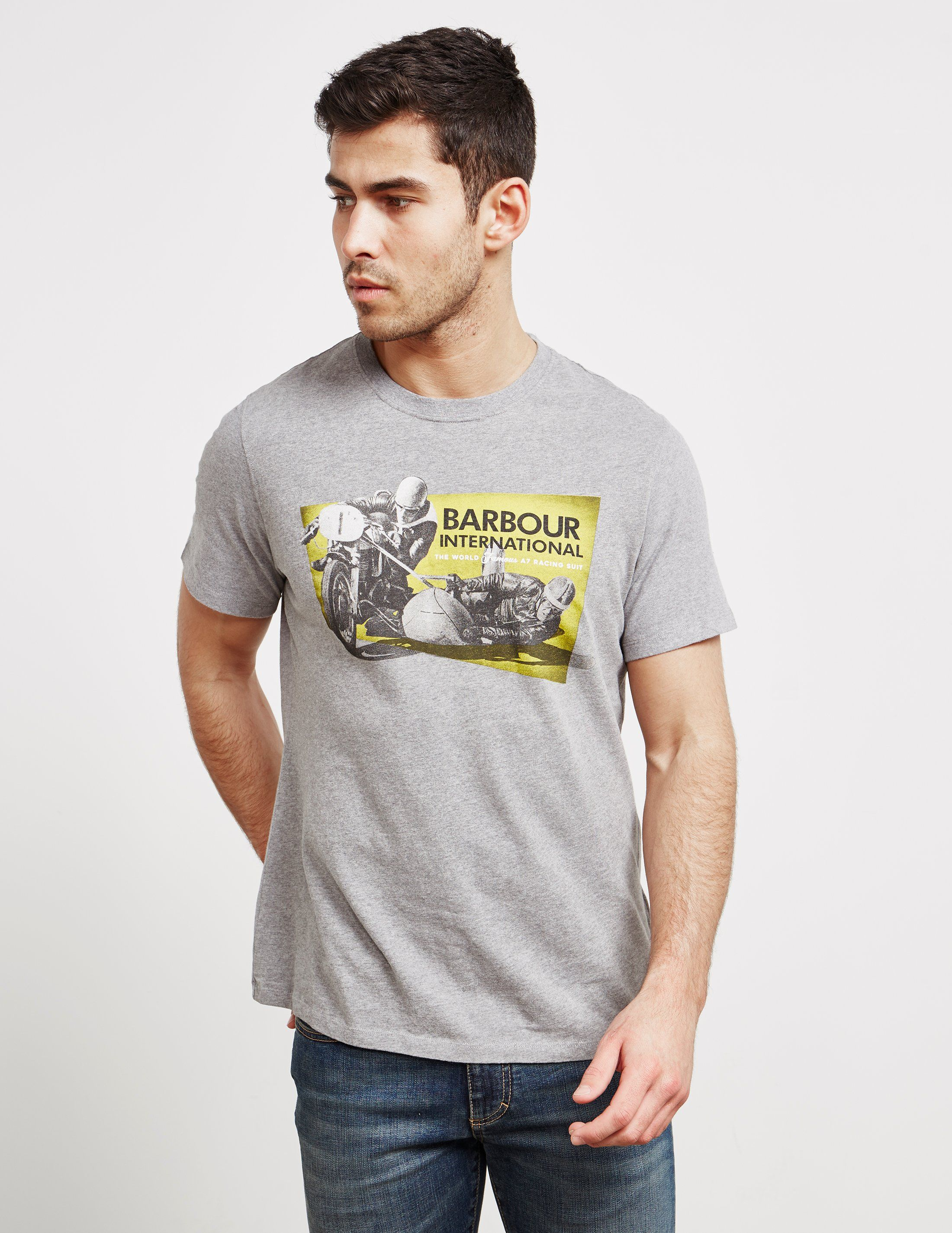 Barbour International Short Sleeve Archive T-Shirt
