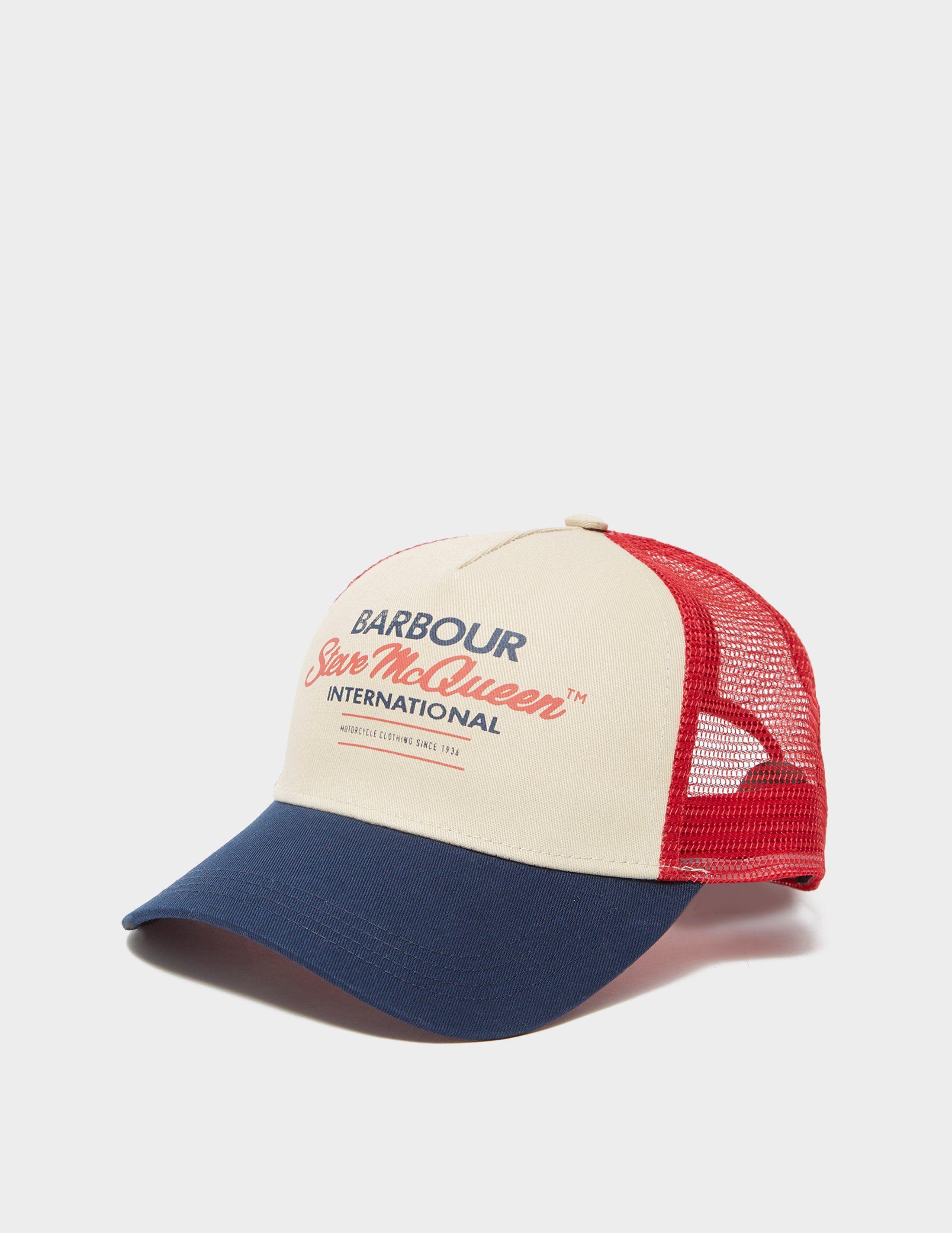 Barbour International Steve McQueen Trucker Cap