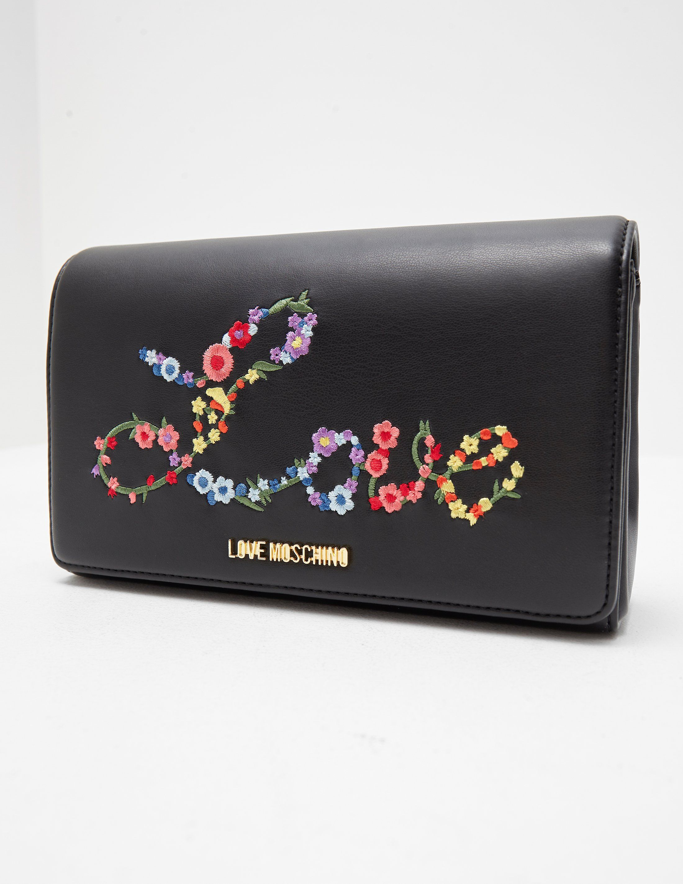 Love Moschino Floral Love Shoulder Bag