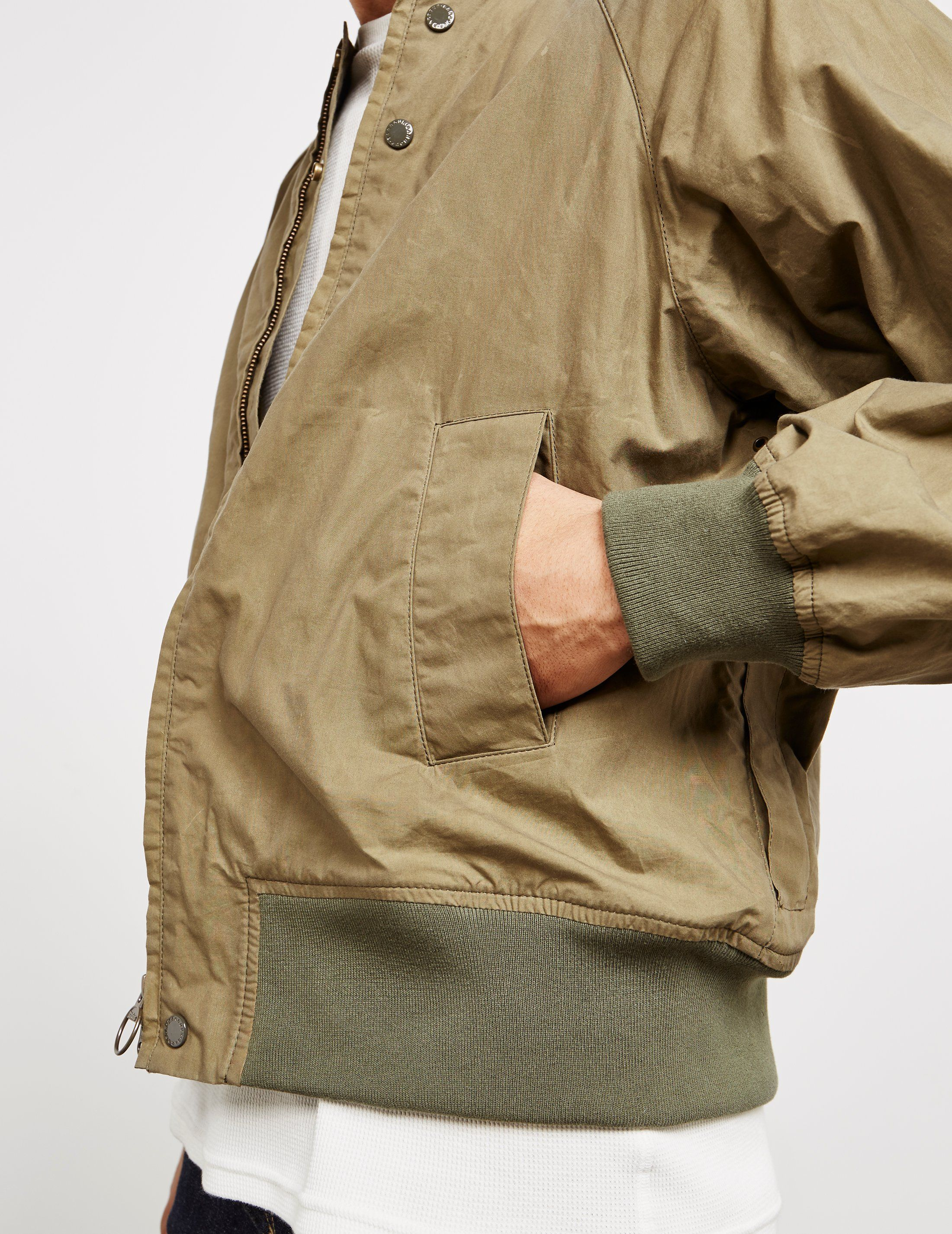 Barbour x Engineered Garments Irving Bomber Jacket