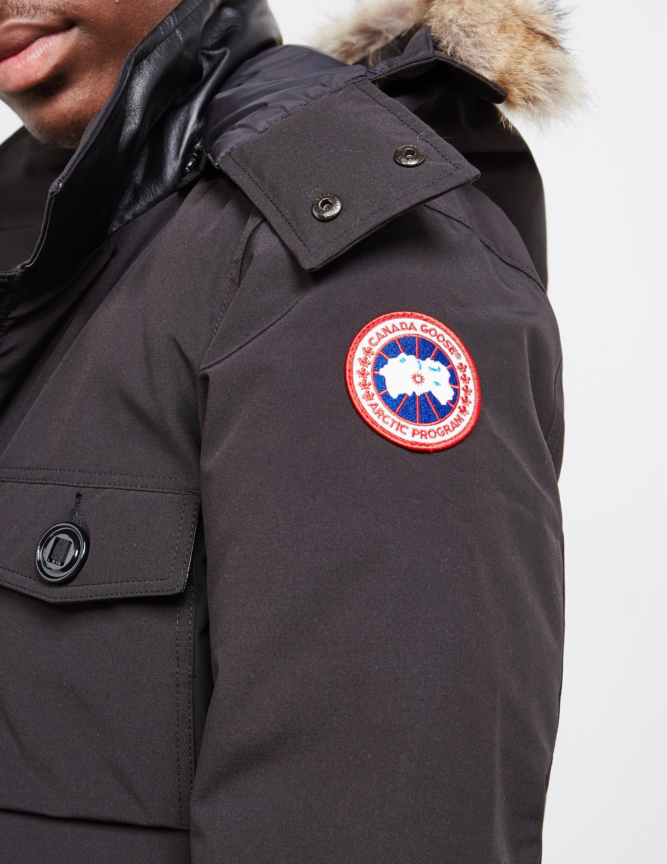 Canada Goose Banff Padded Parka Jacket