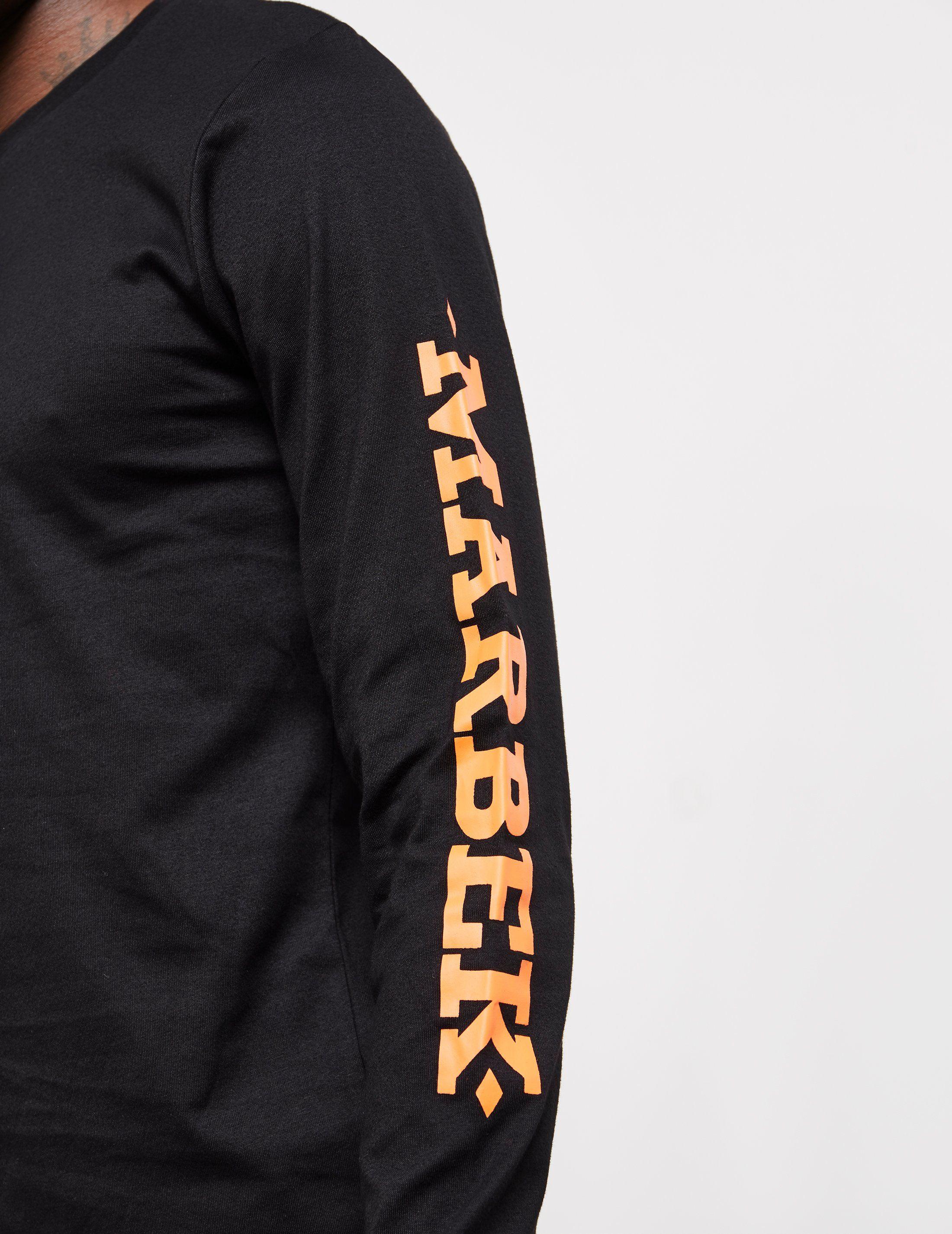Marbek Side Logo Long Sleeve T-Shirt - Exclusive