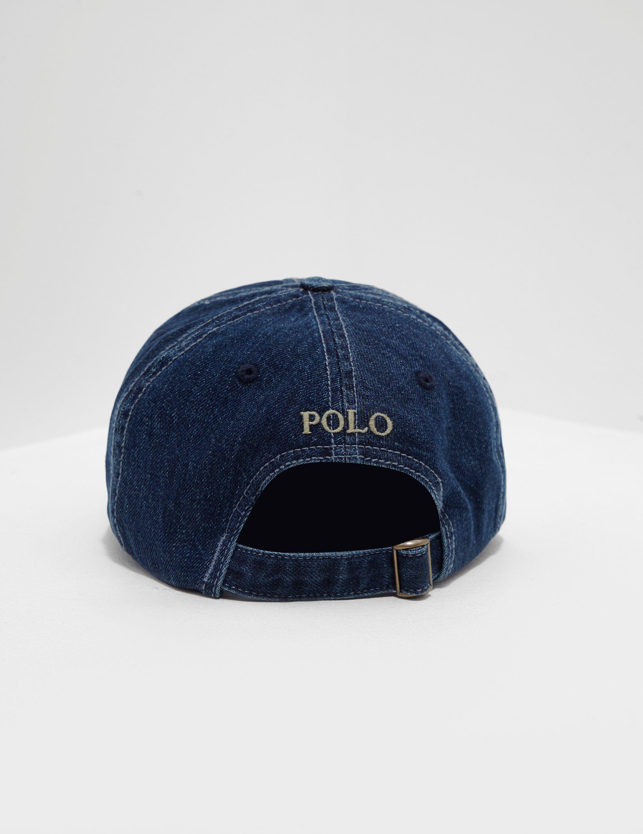 Polo Ralph Lauren Denim Pony Cap