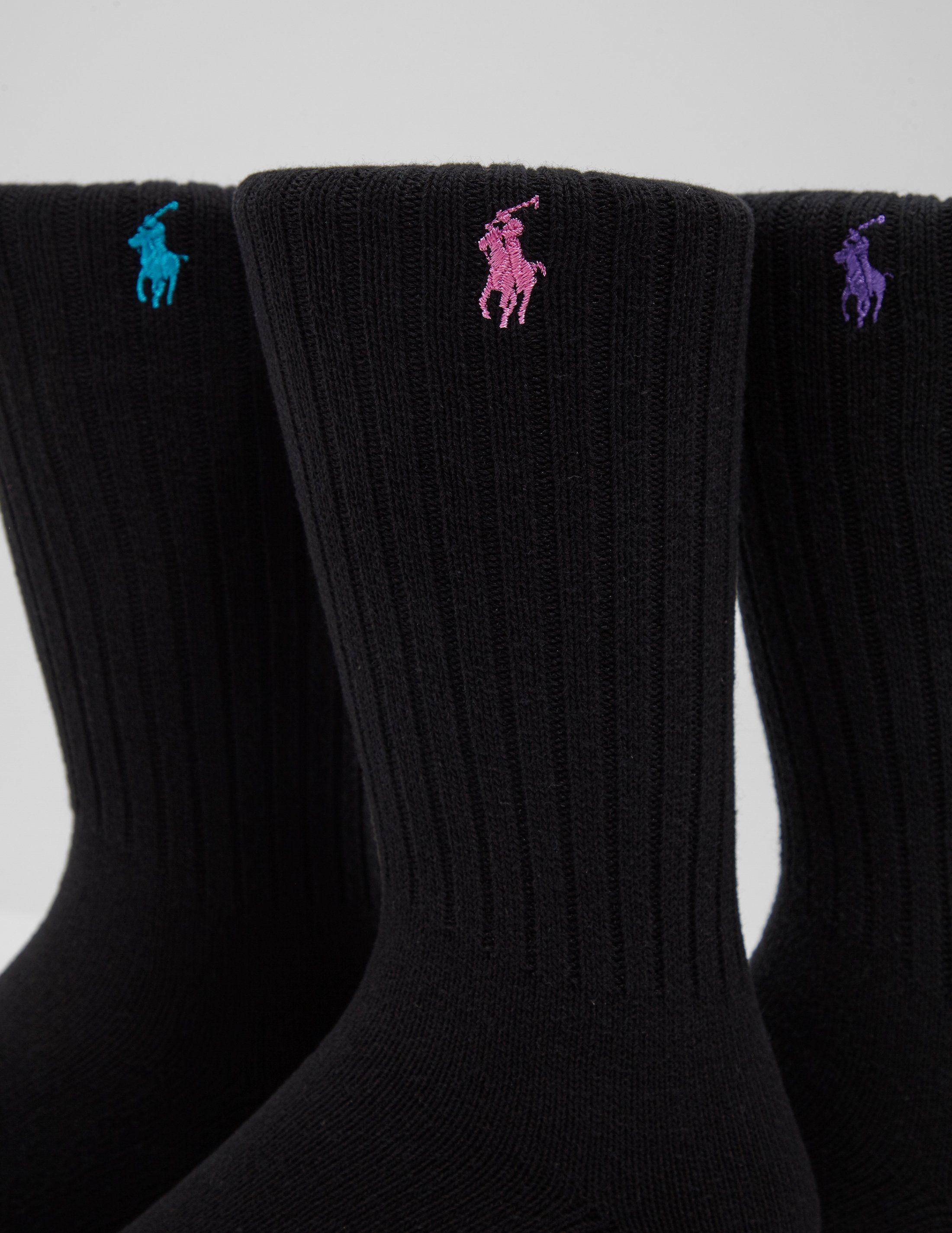 Polo Ralph Lauren 3-Pack Pony Socks