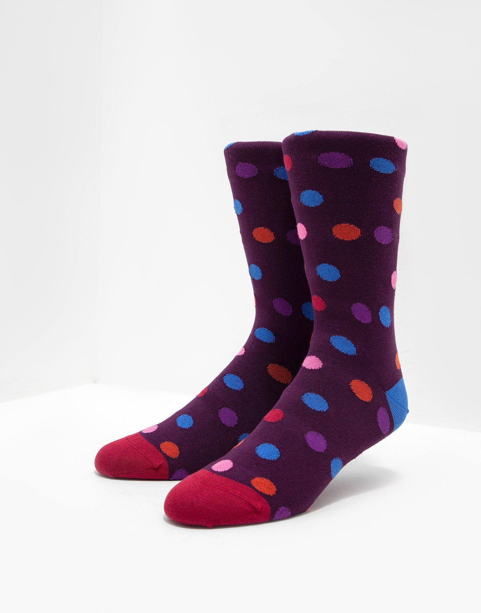 PS Paul Smith Polka Dot Socks