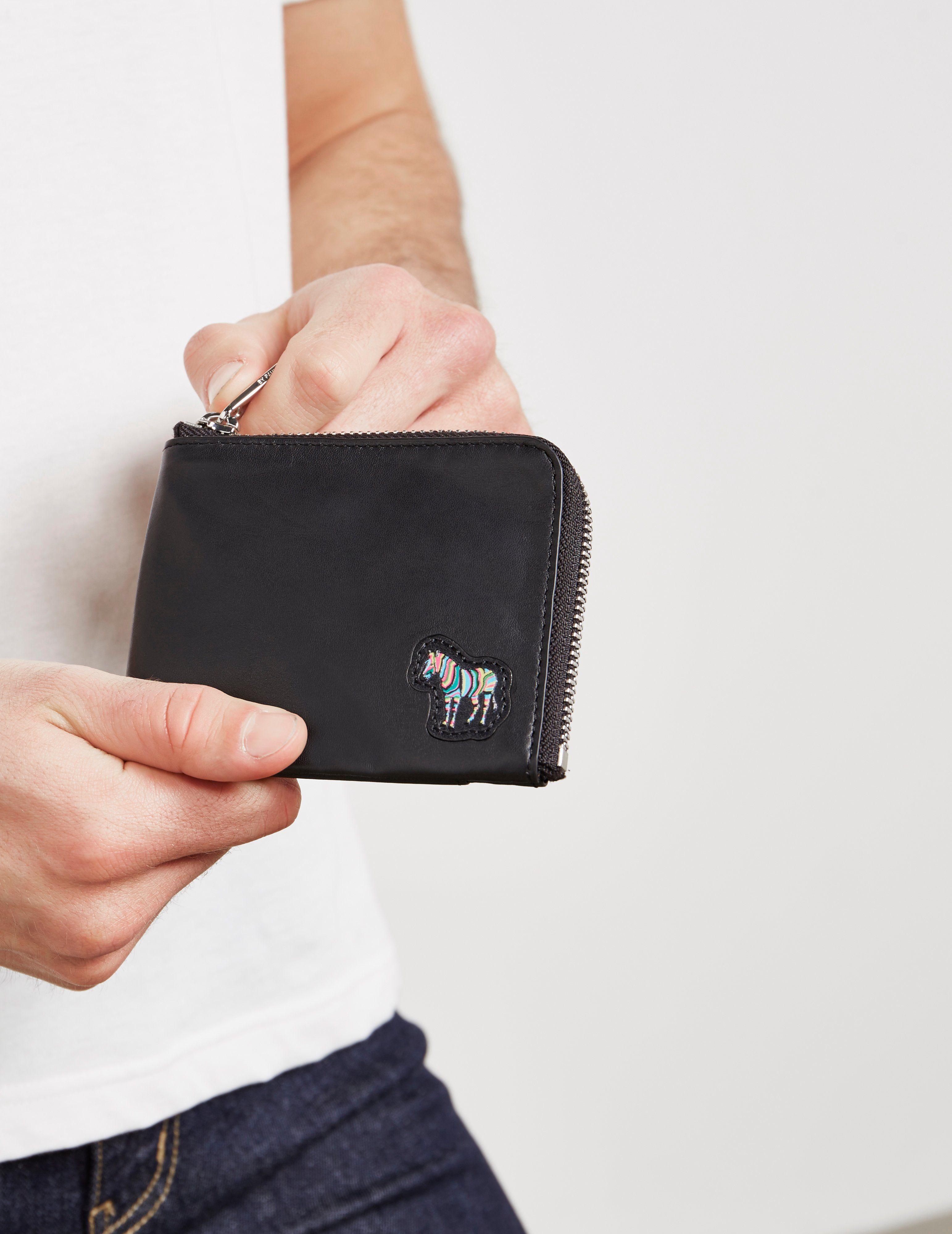 PS Paul Smith Zebra Coin Wallet