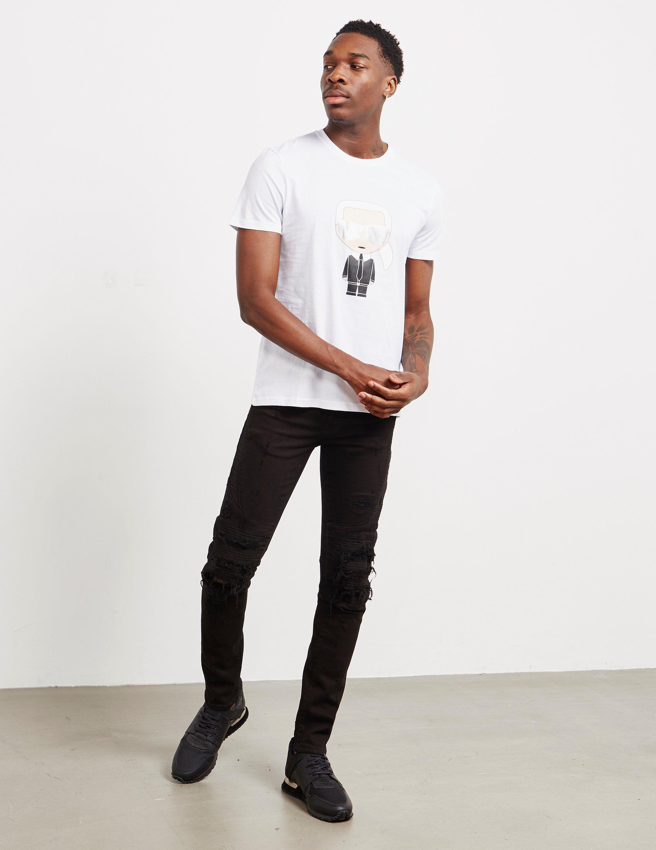 Karl Lagerfeld Doll Short Sleeve T-Shirt