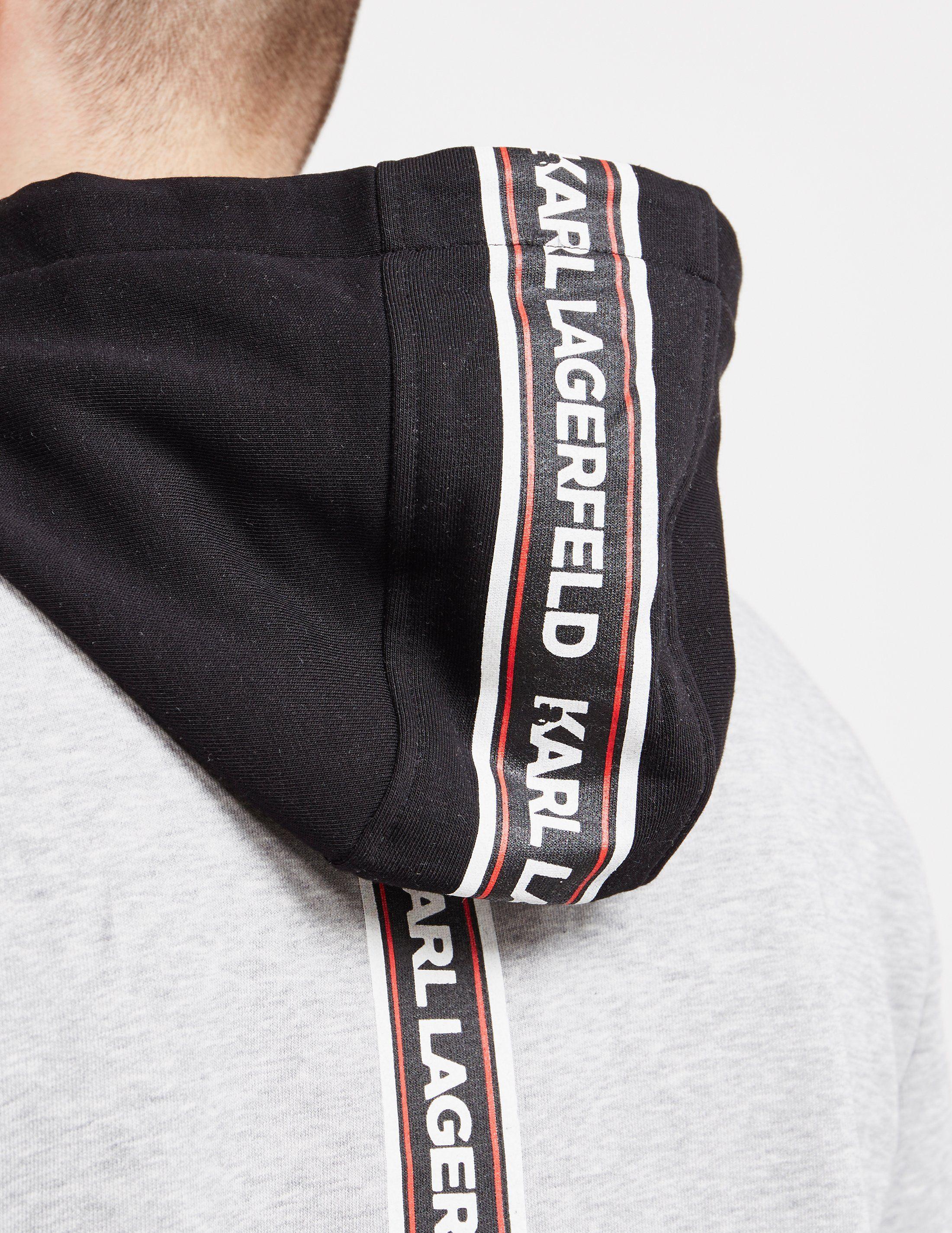 Karl Lagerfeld Tape Hoodie