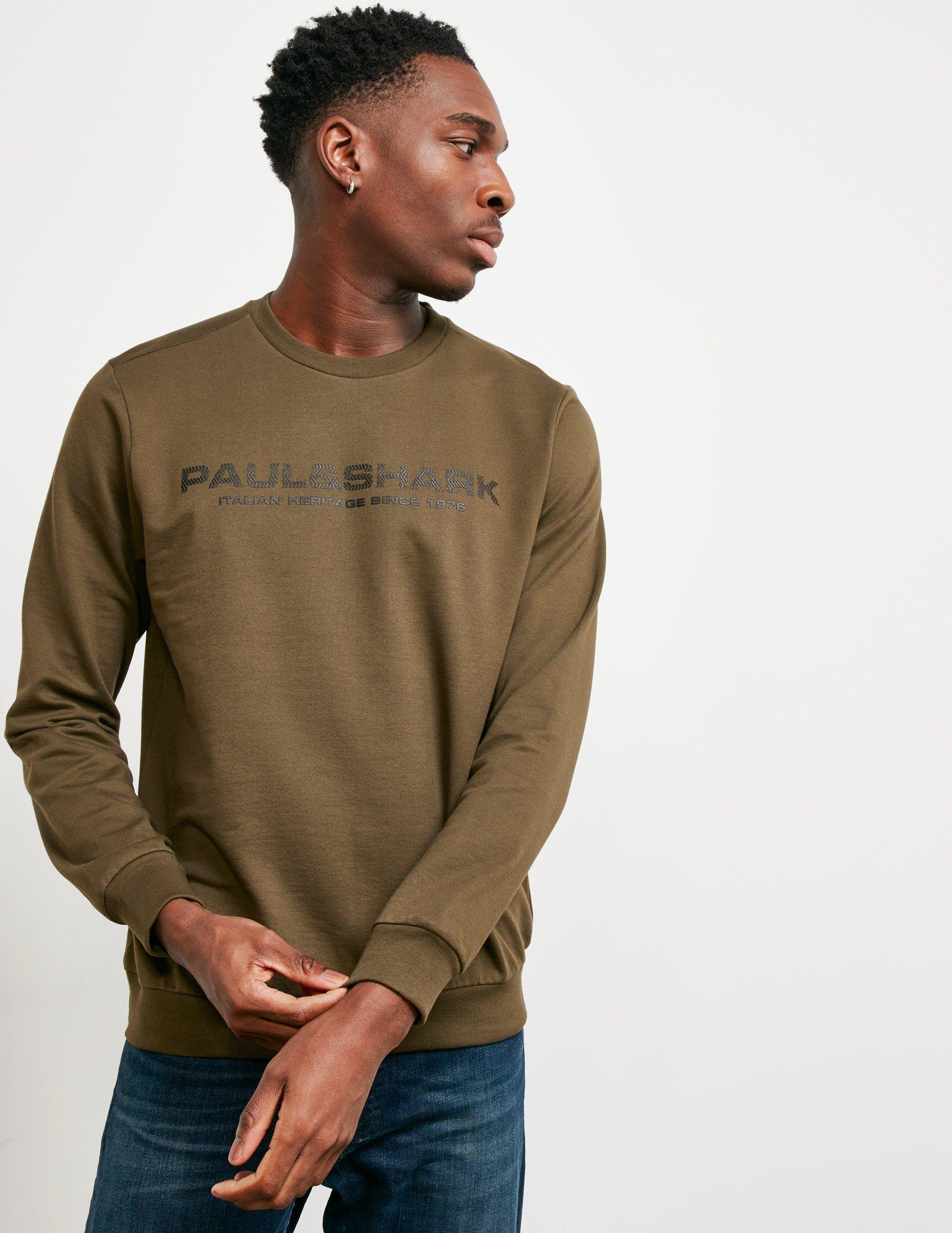 Paul and Shark Carbon Logo Sweatshirt