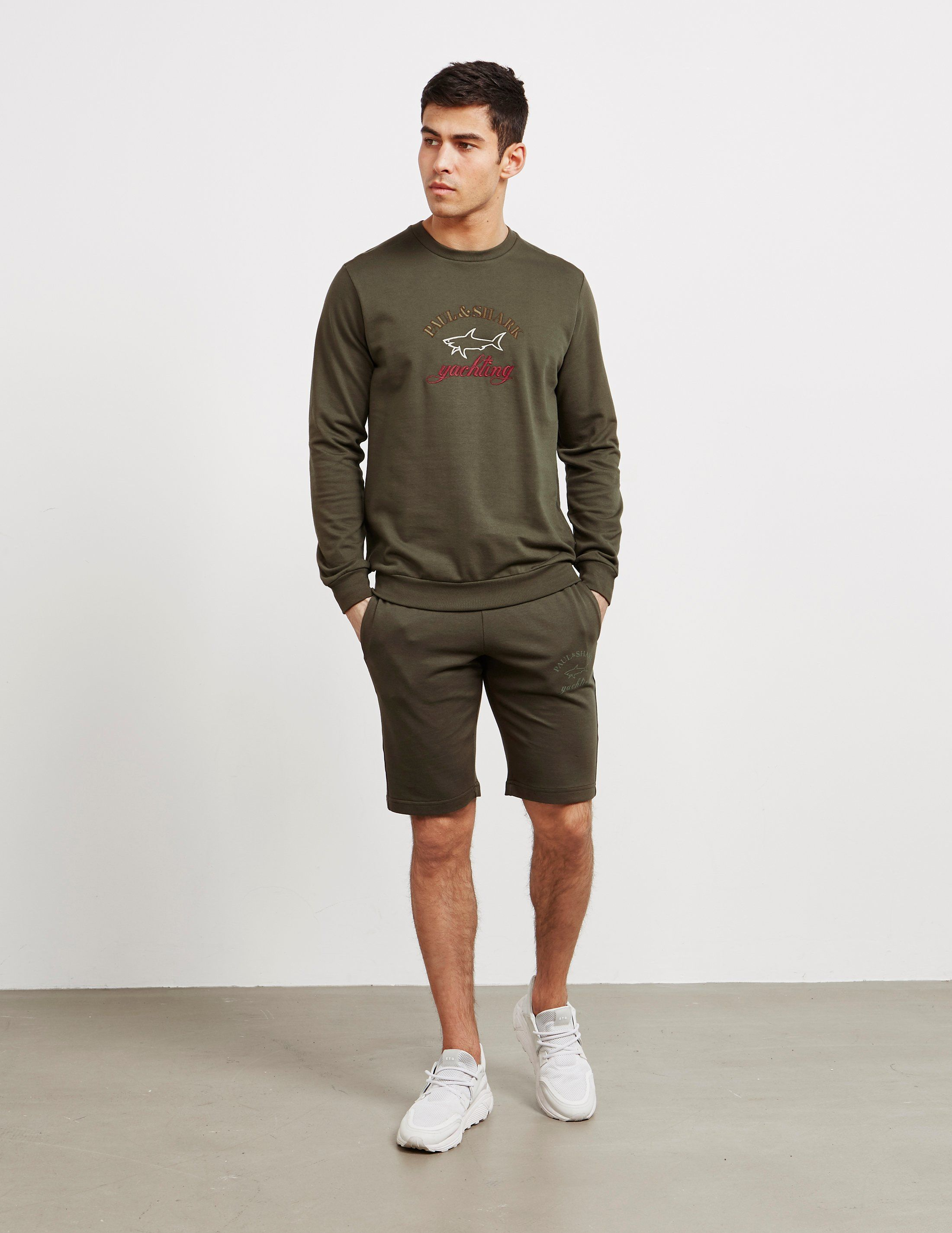 Paul and Shark Embroidered Logo Sweatshirt