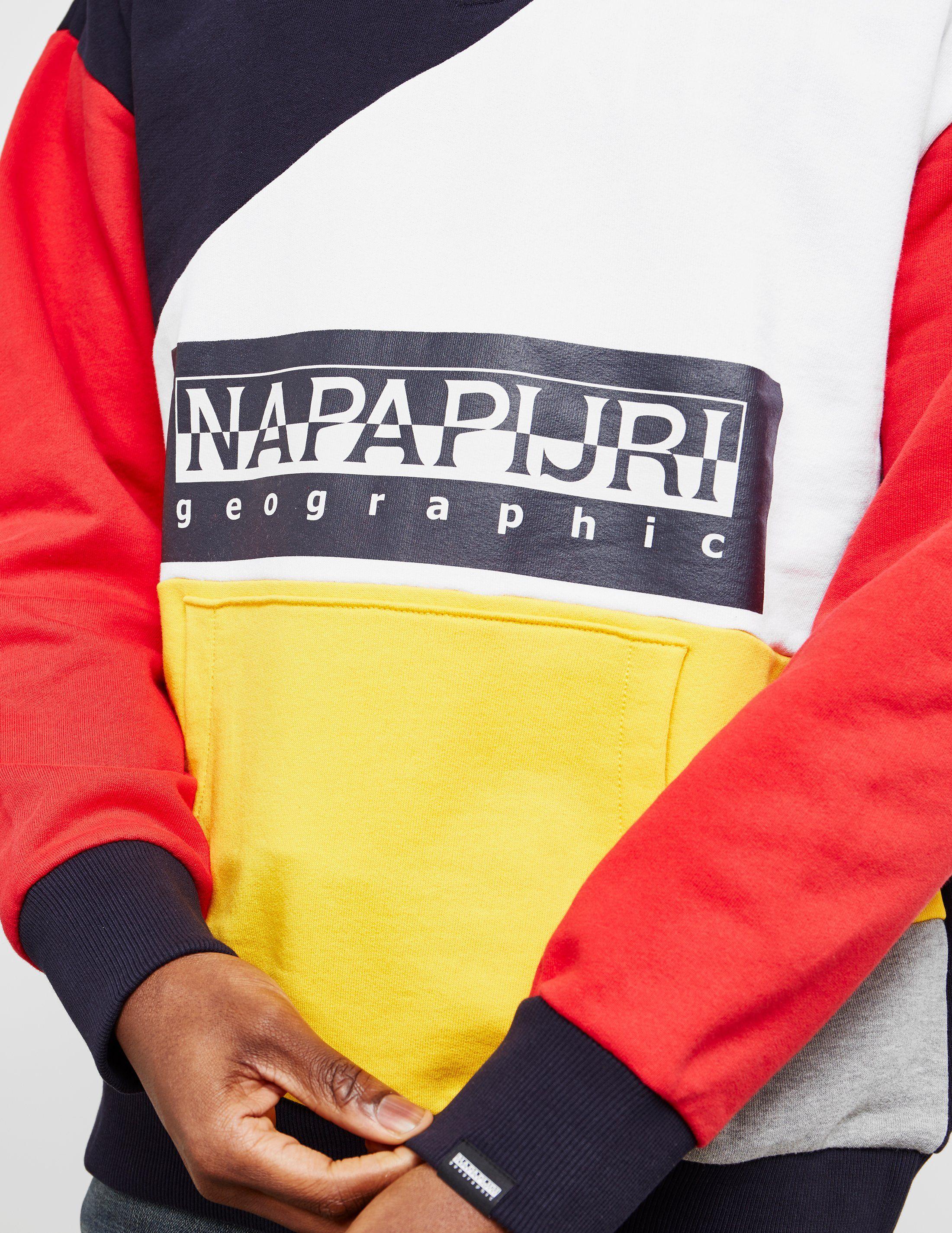 Napapijri Half Zip Tribe Sweatshirt