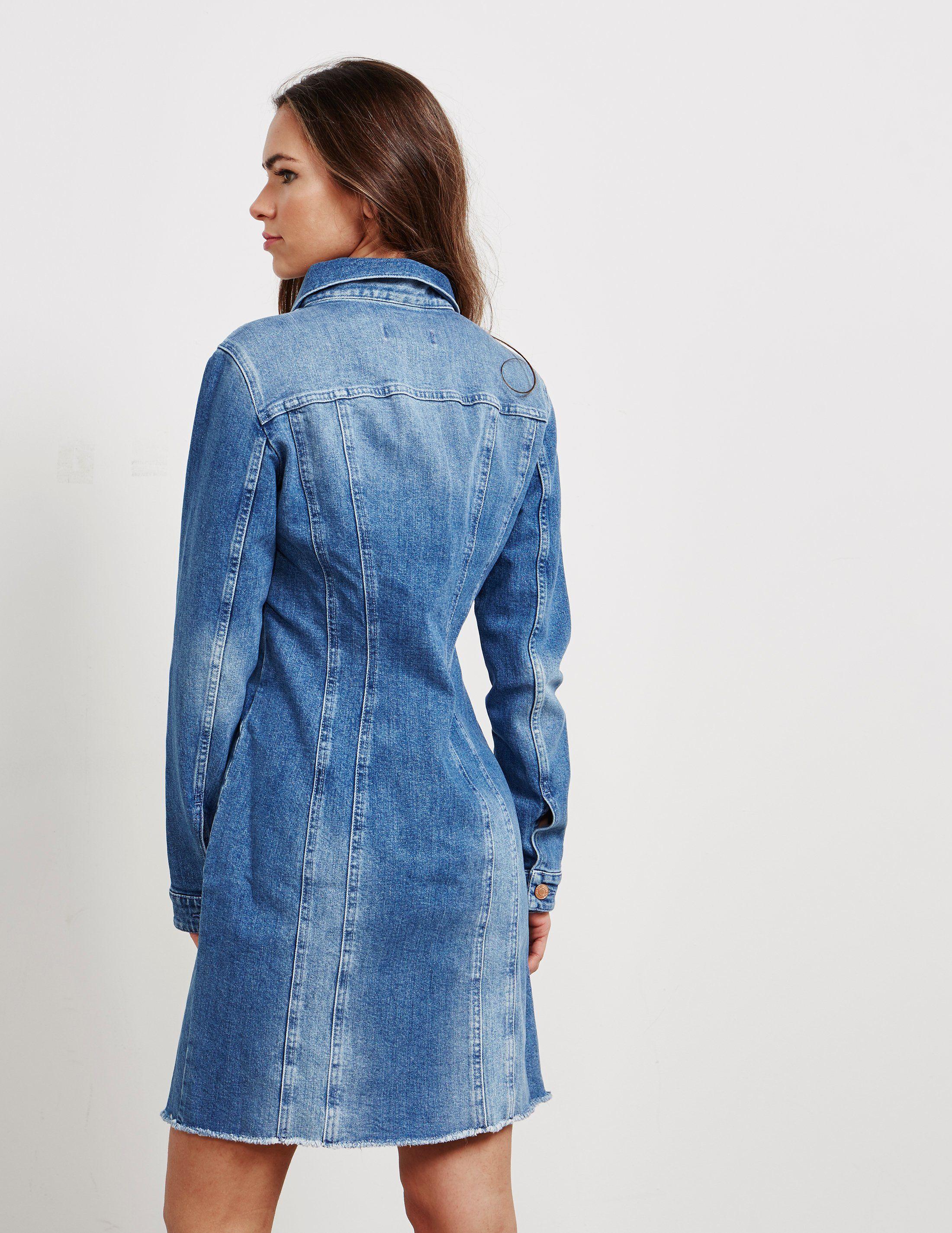 HUGO Gianina Denim Dress