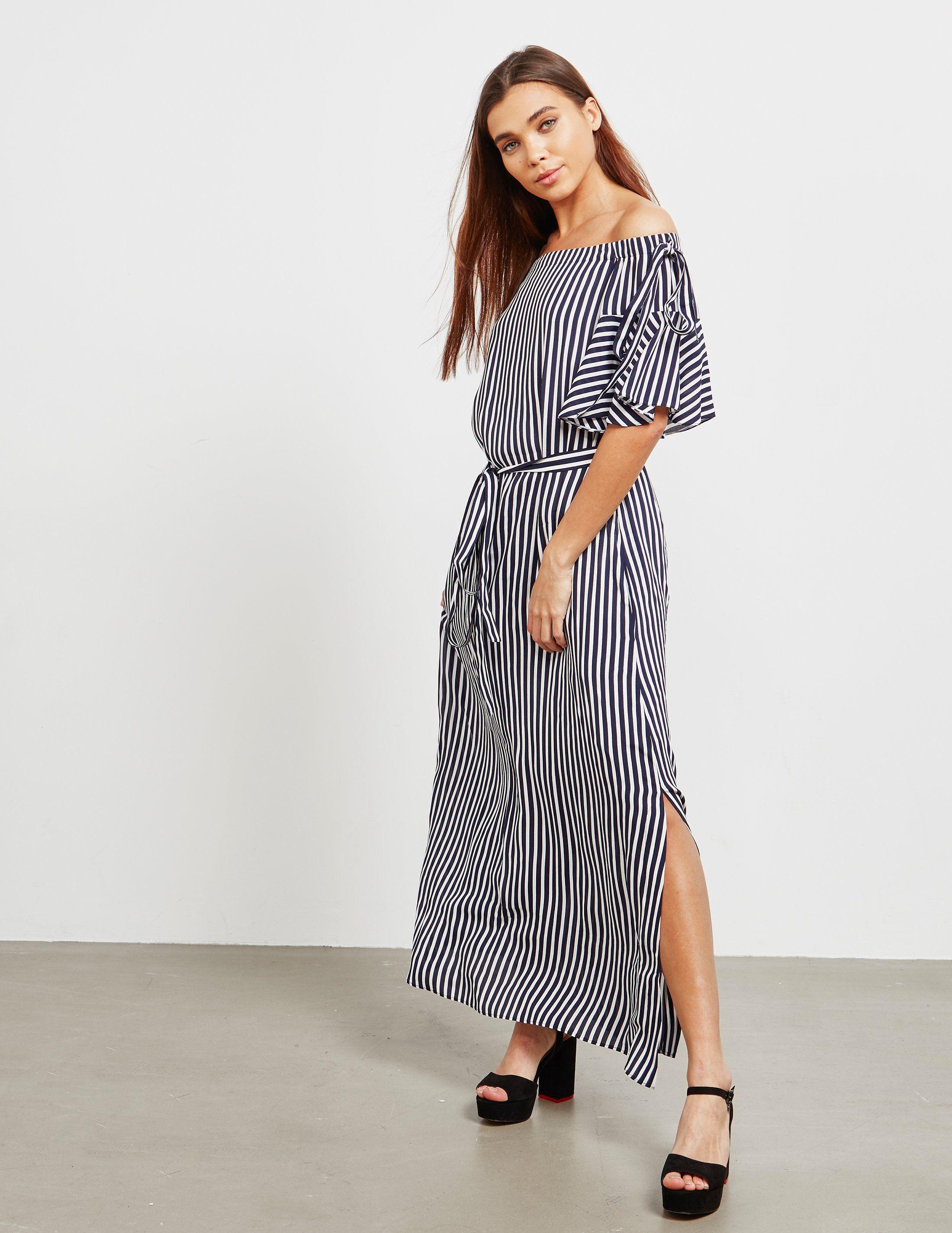 HUGO Kabowy Stripe Dress - Online Exclusive