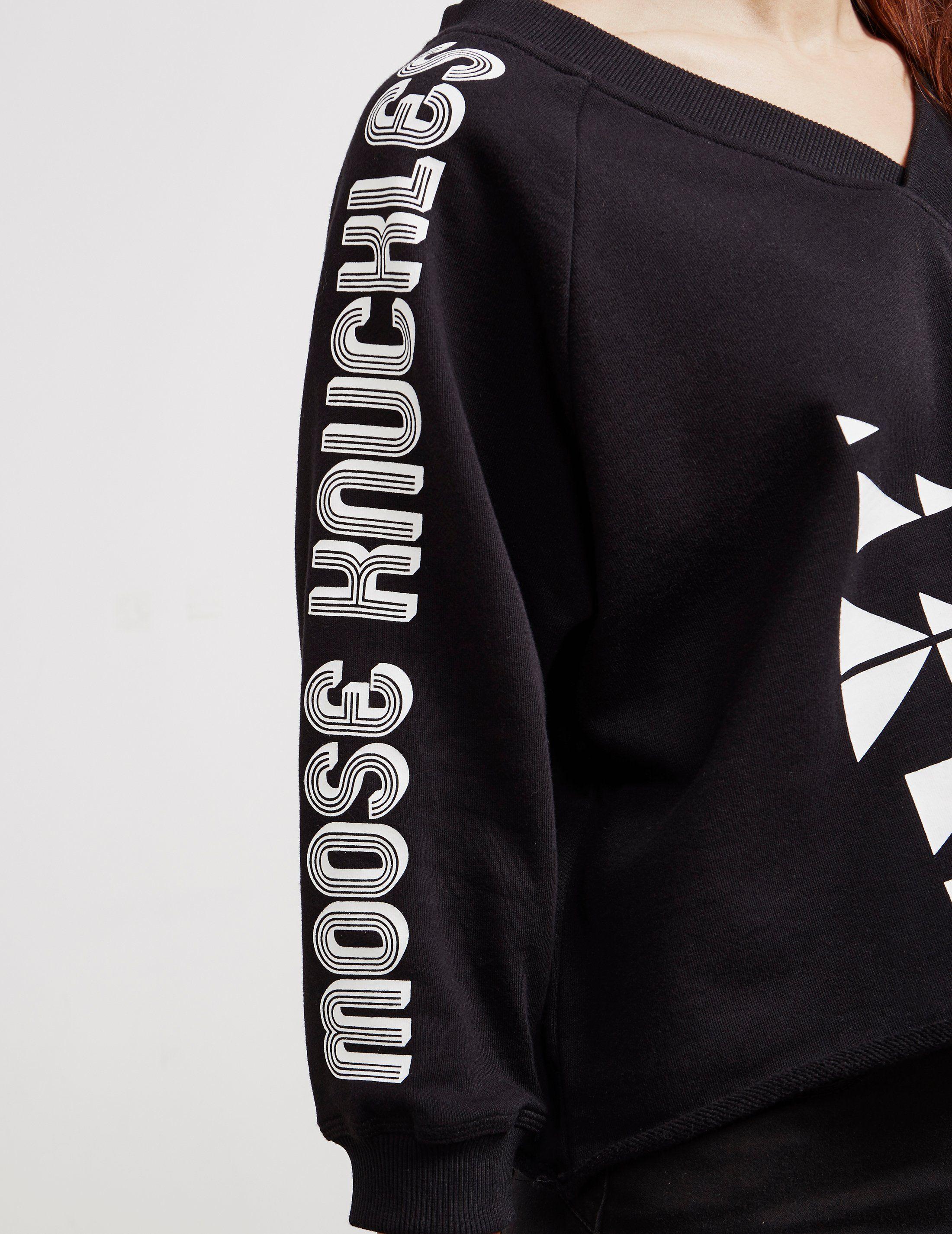 Moose Knuckles Logo Sweatshirt