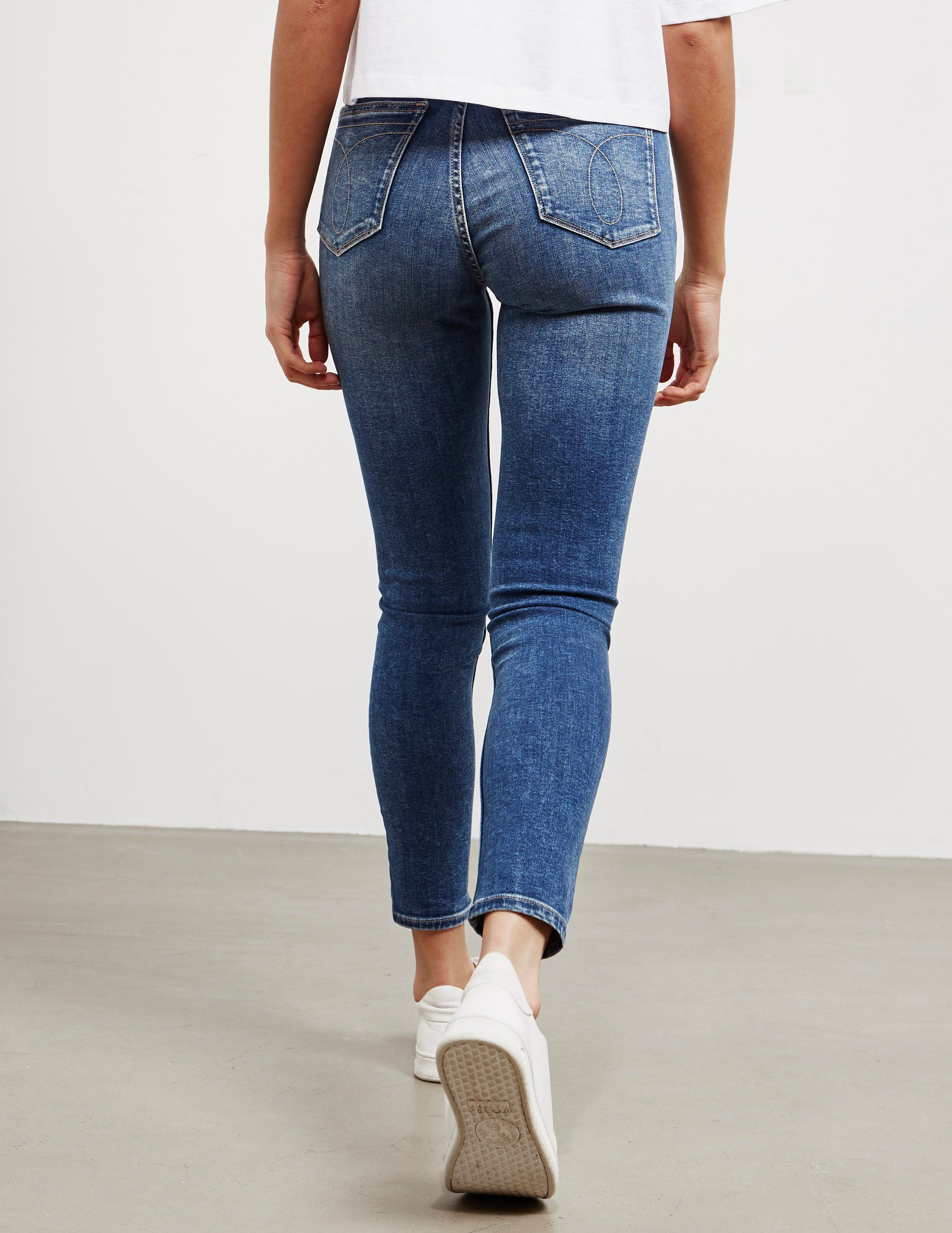 Calvin Klein Jeans Ankle Grazer Iconic Jeans