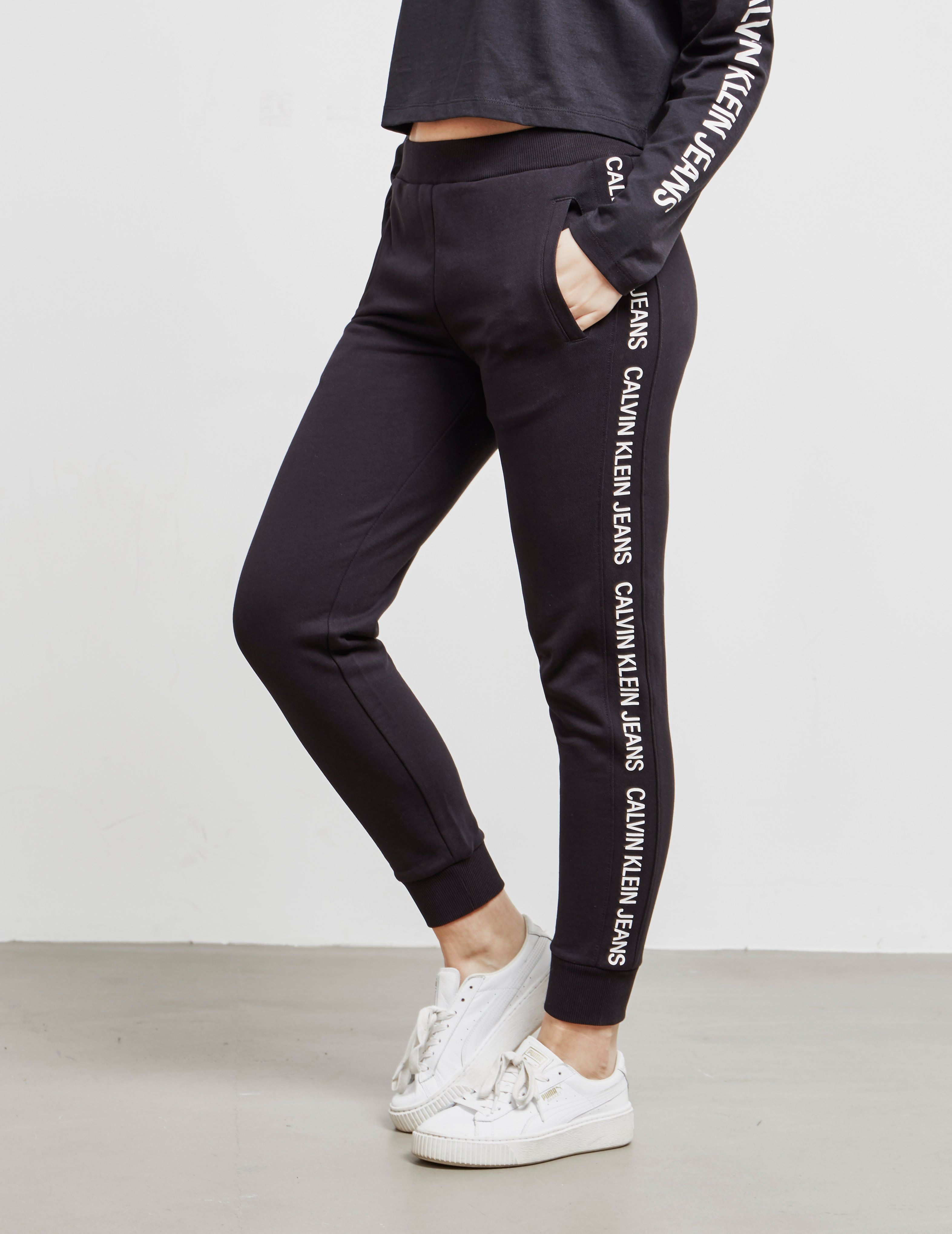 Calvin Klein Jeans Logo Tape Track Pants