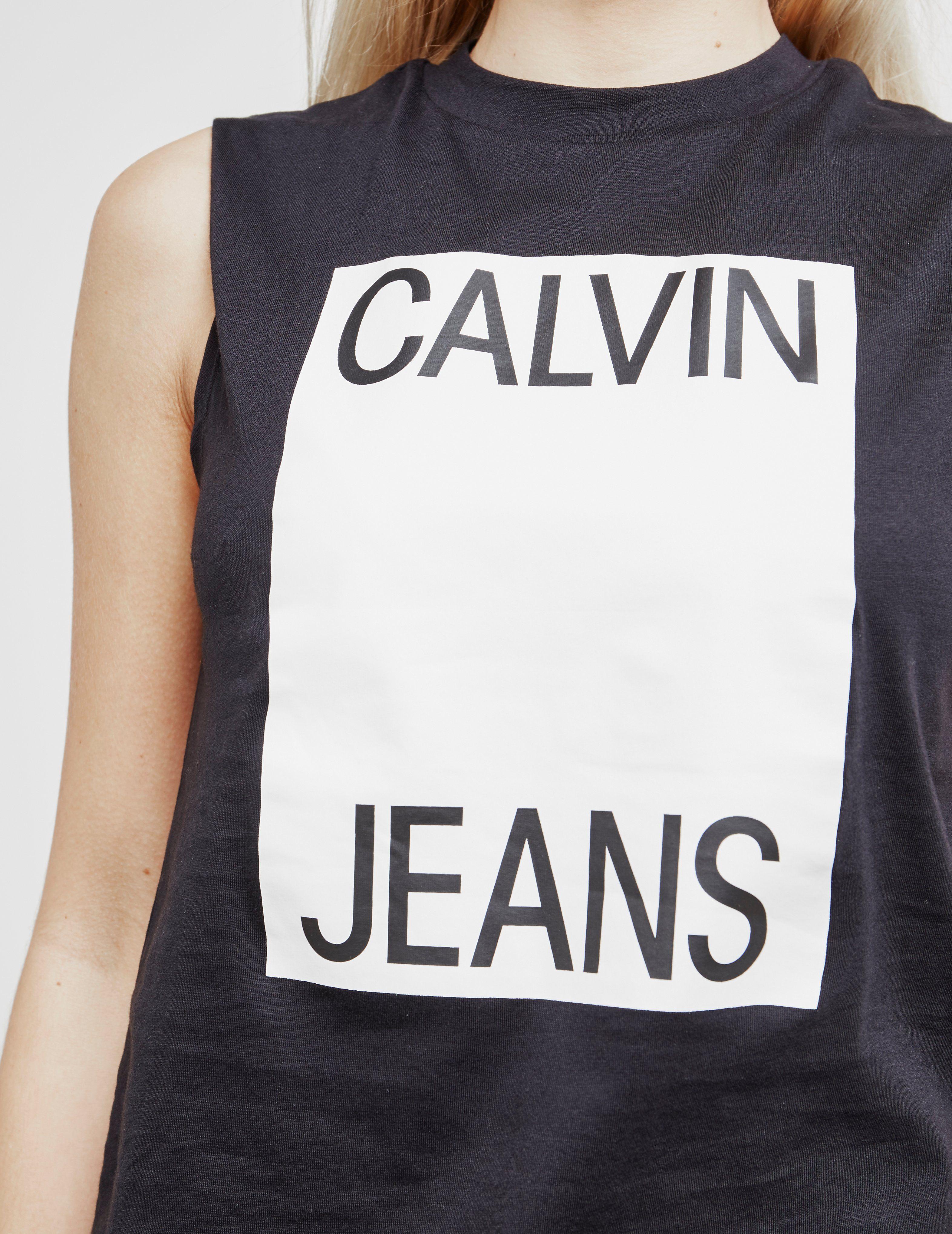 Calvin Klein Jeans Large Box Vest