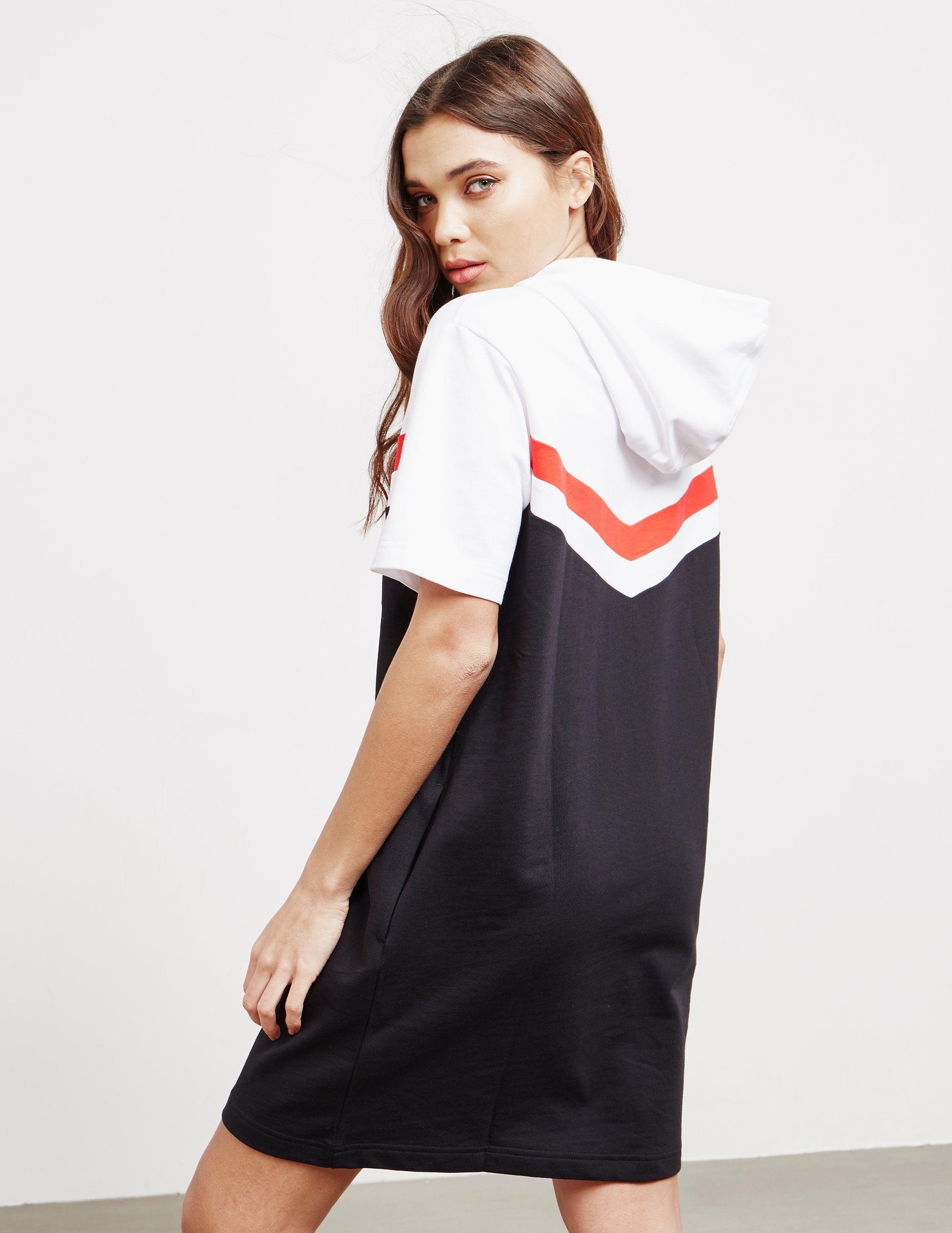 Calvin Klein Jeans Hooded Dress