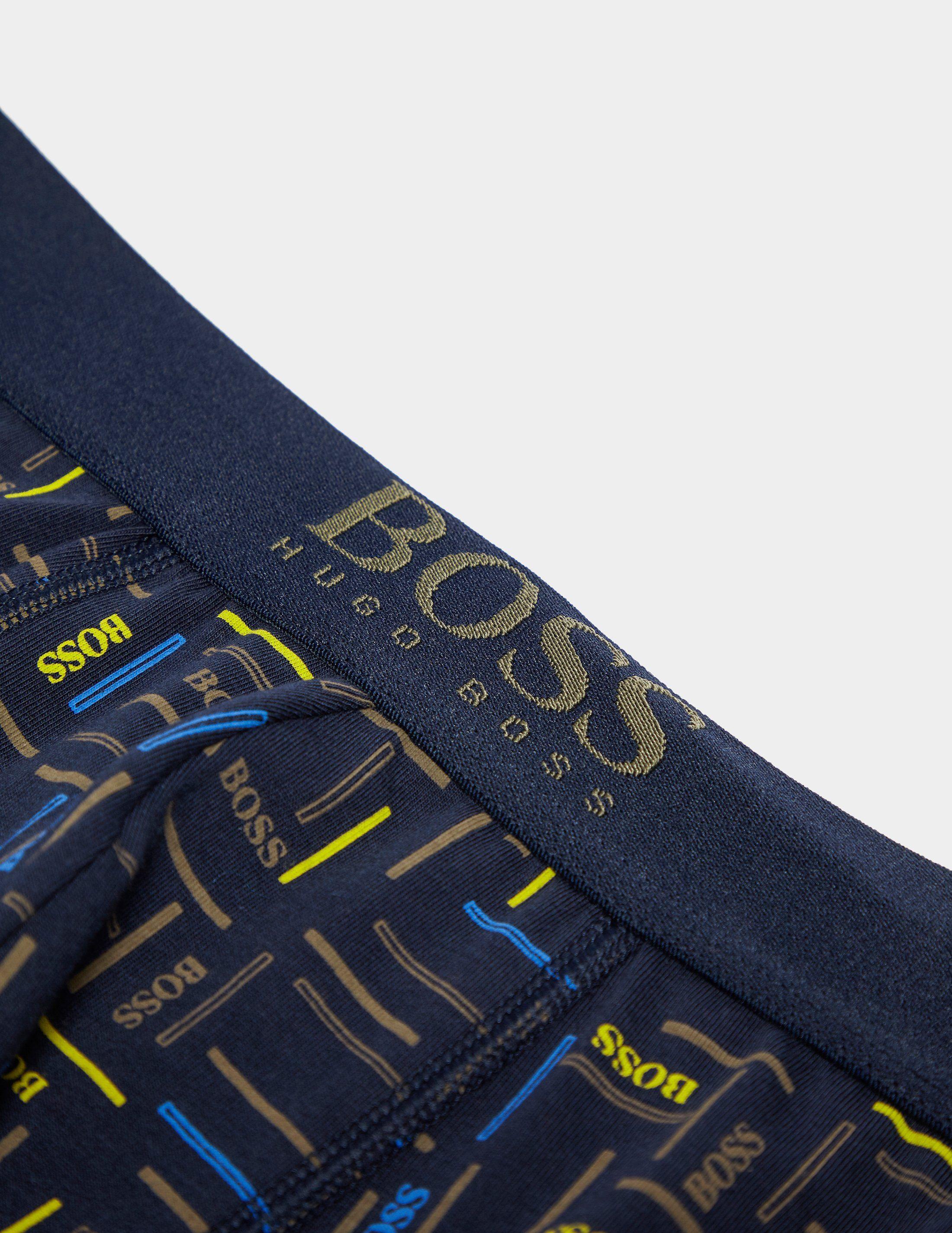 BOSS Multi Print Boxer Shorts