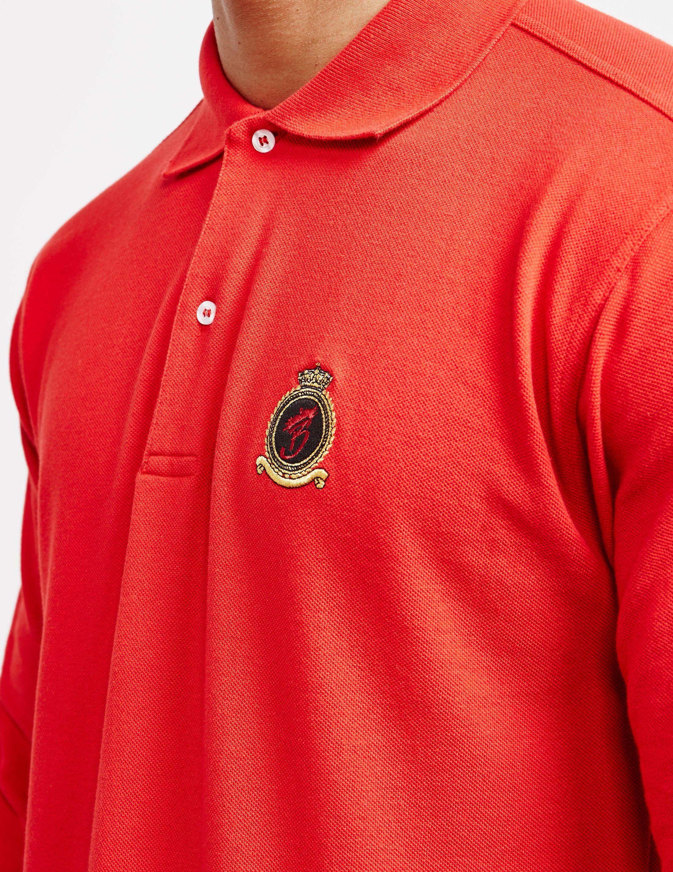 Benjart Logo Long Sleeve Polo Shirt