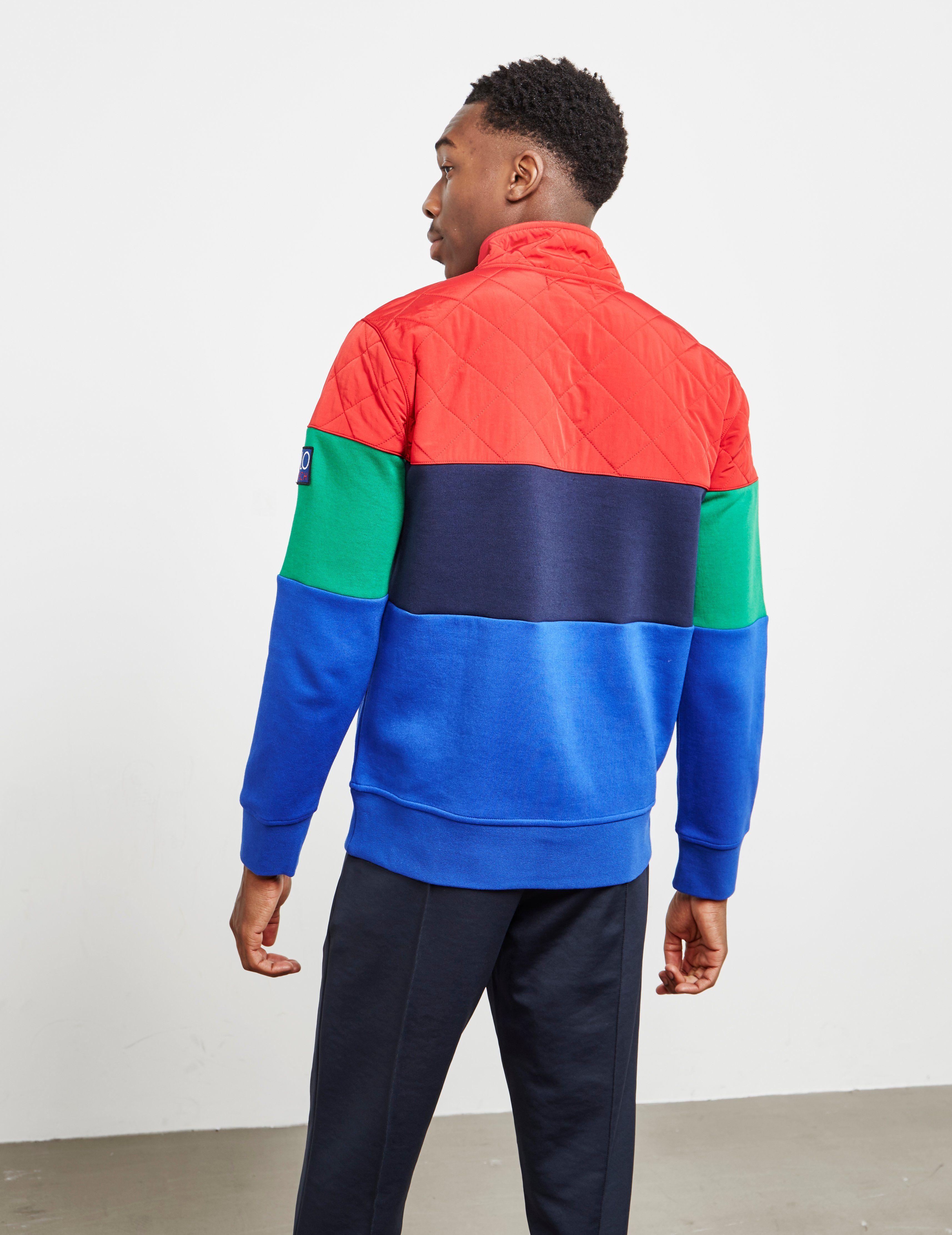 Polo Ralph Lauren Hi Tech Half Zip Sweatshirt - Online Exclusive