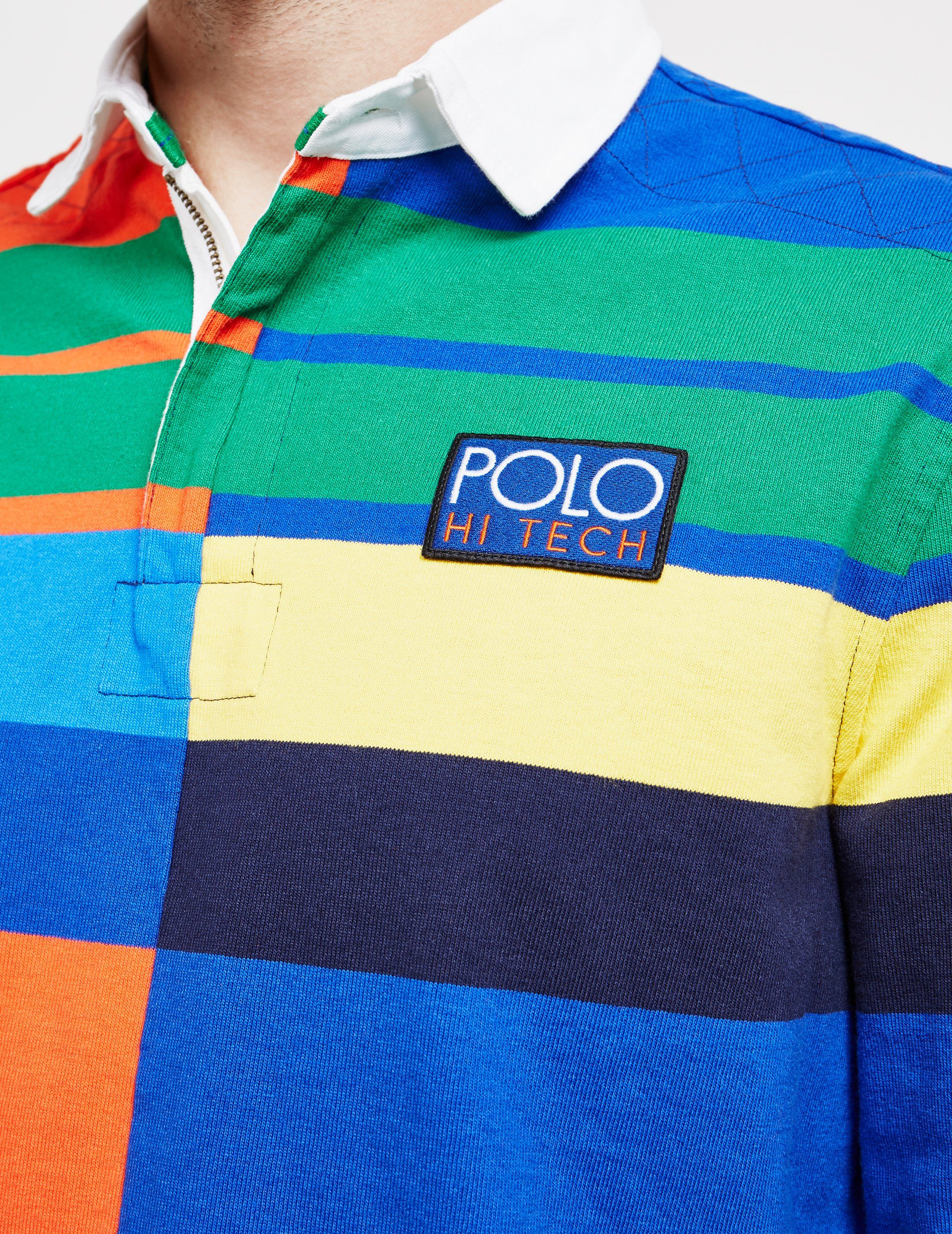 Polo Ralph Lauren Hi Tech Rugby Short Sleeve Polo Shirt