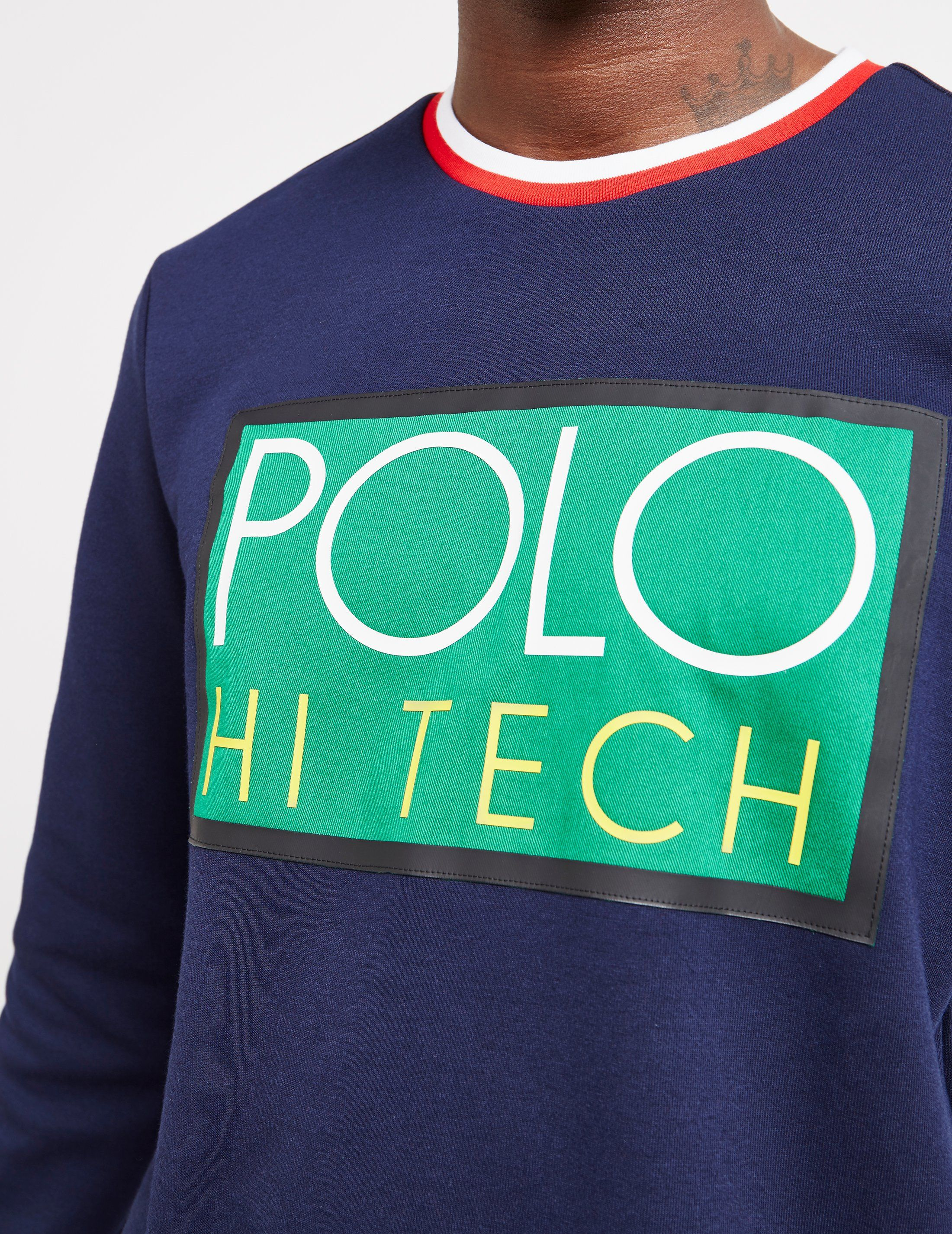 Polo Ralph Lauren Hi Tech Tipped Sweatshirt