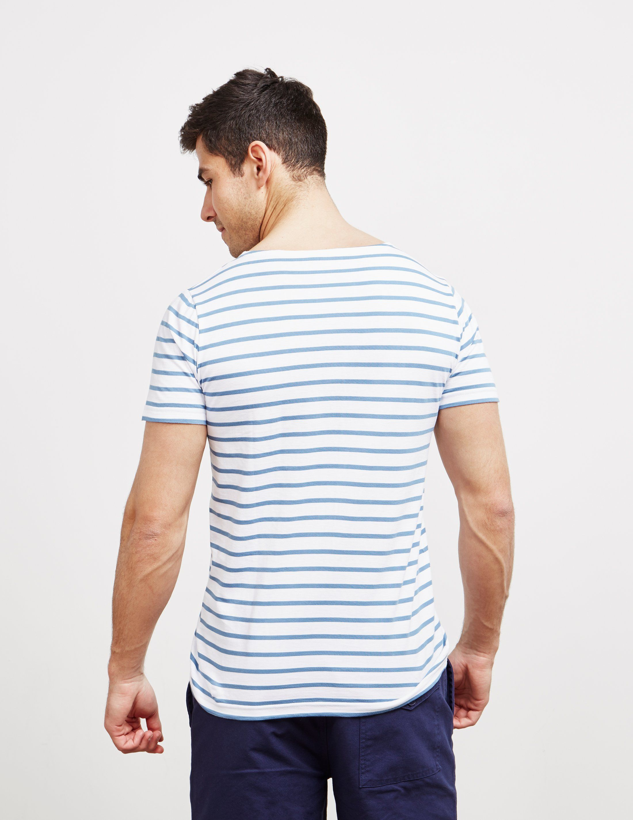 Armor Lux Small Stripe Short Sleeve T-Shirt