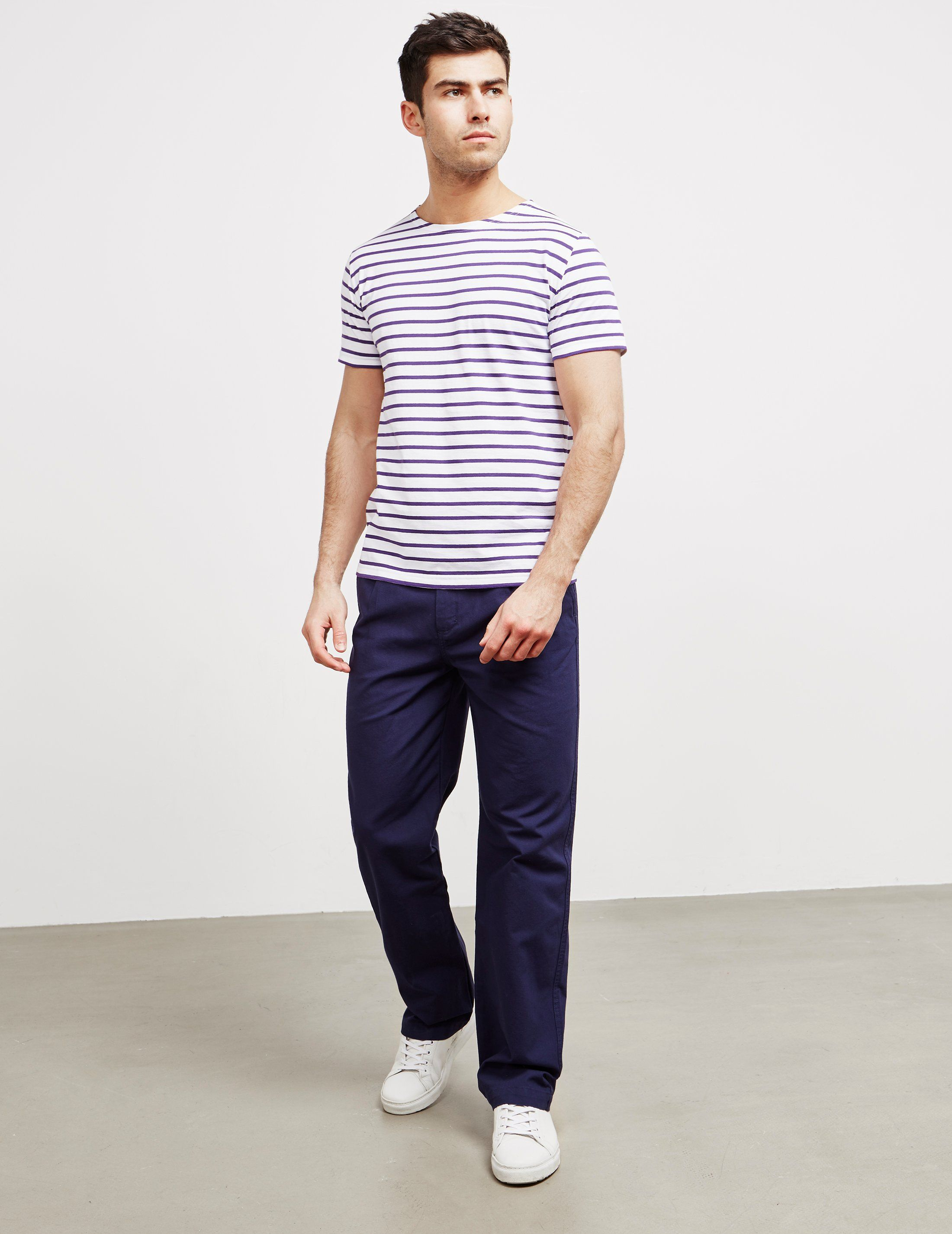 Armor Lux Small Stripe Short Sleeve T-Shirt