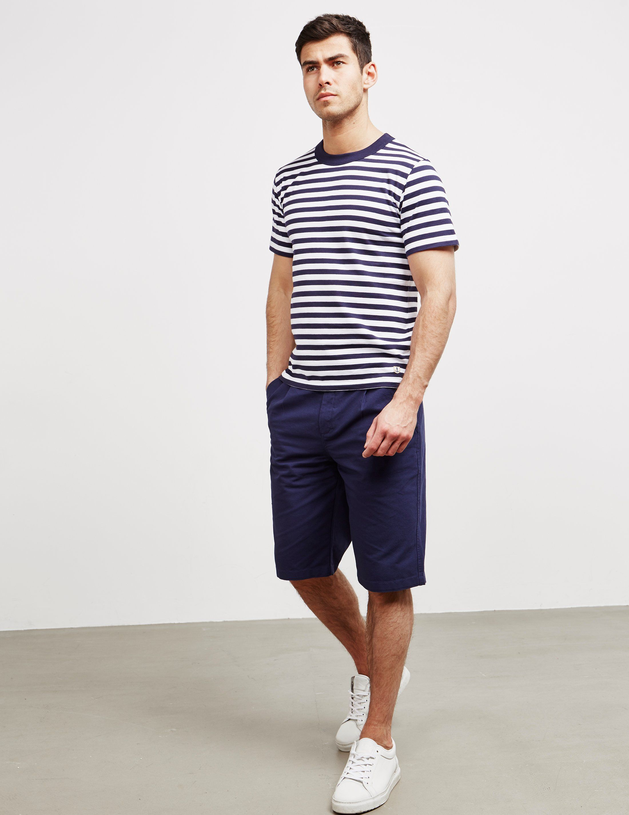 Armor Lux Thick Stripe Short Sleeve T-Shirt